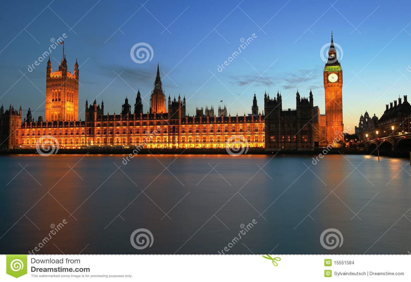 Londres, Westminster e Ben grande
