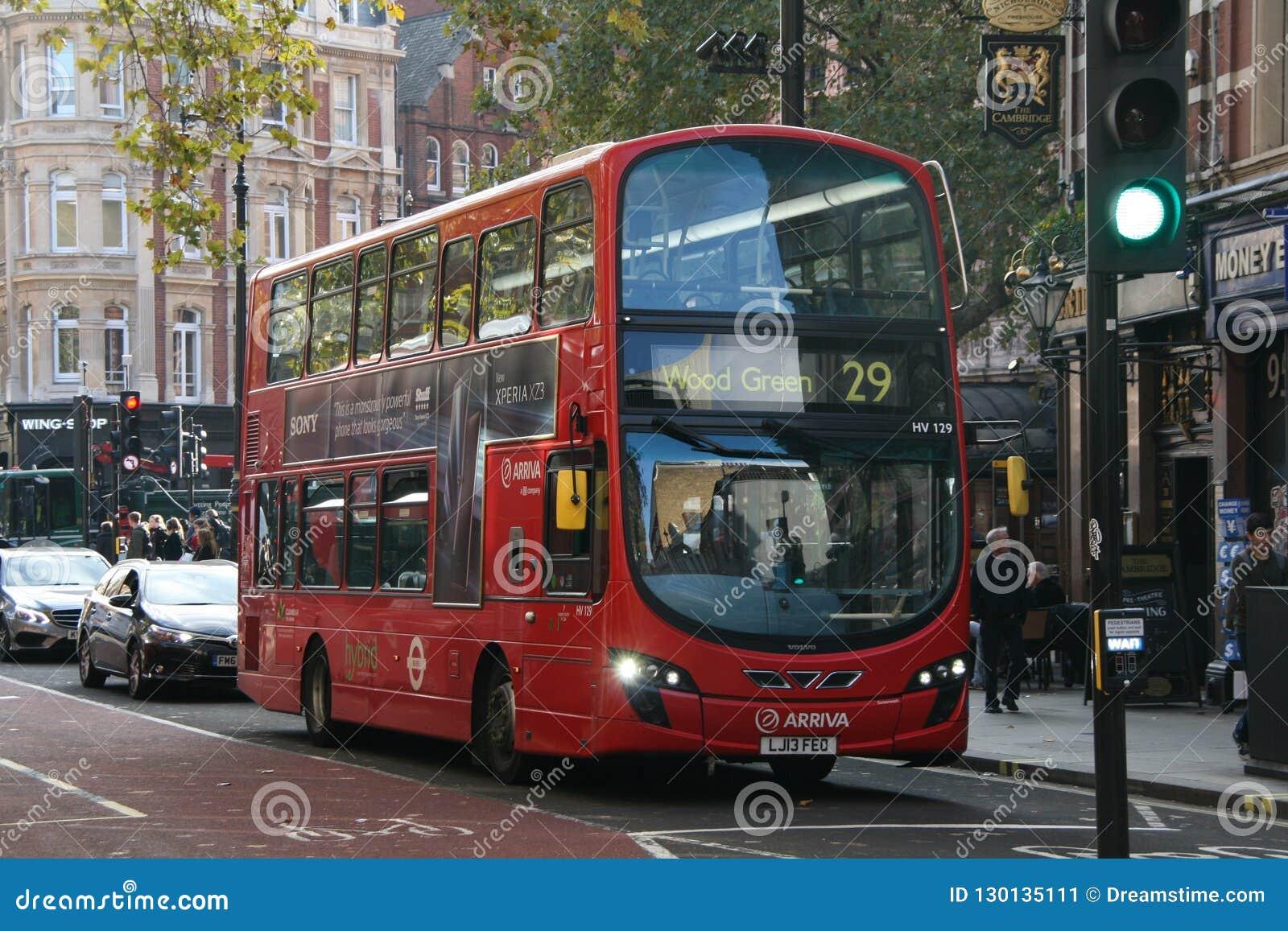 Londyński autobus 2018