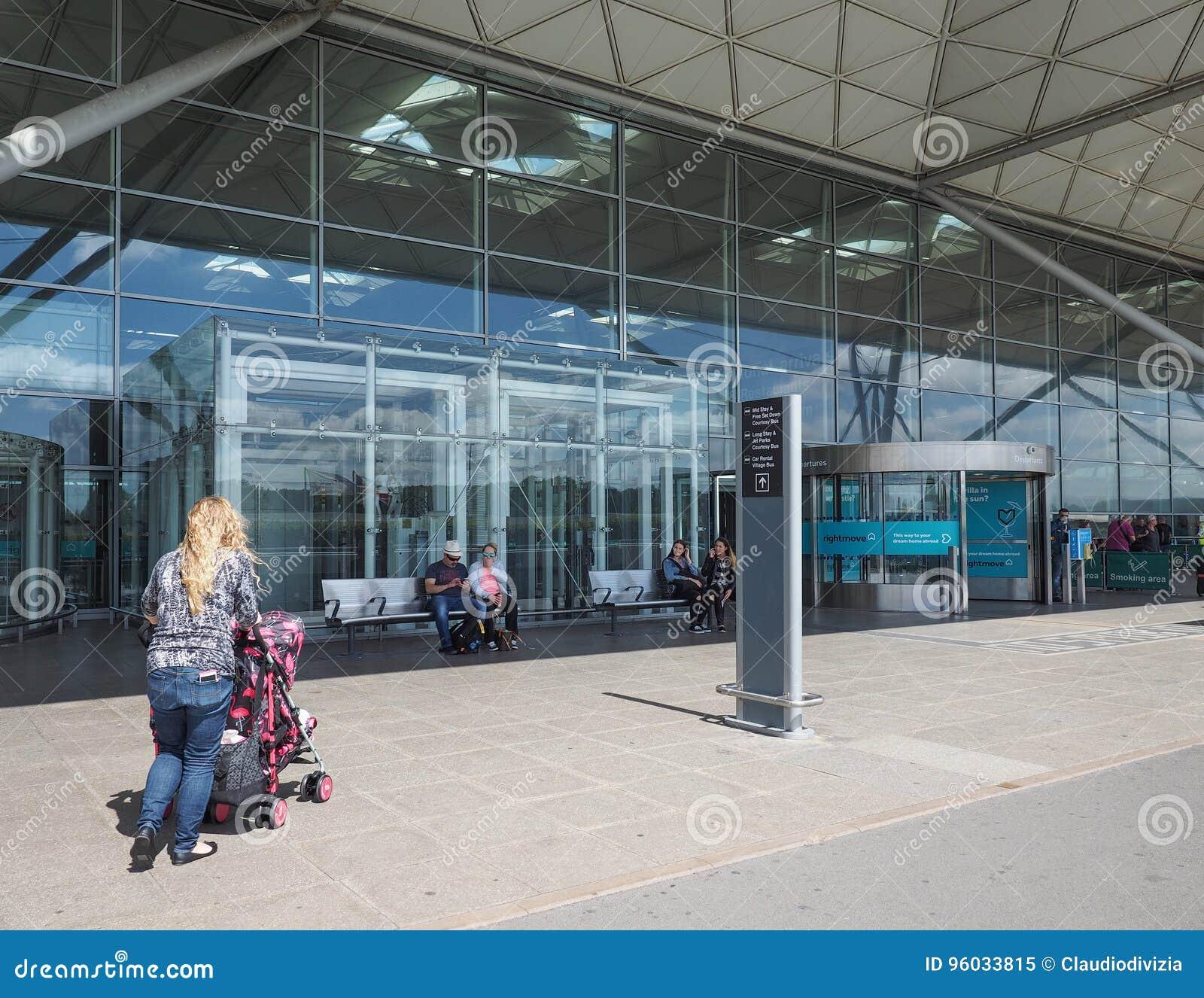 Londyński Stansted lotnisko