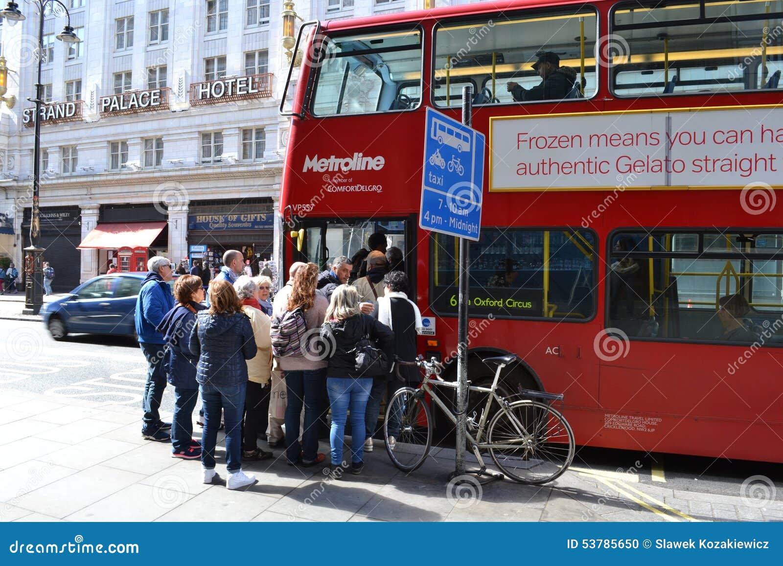 Londyn dojeżdżać do pracy transport publicznego