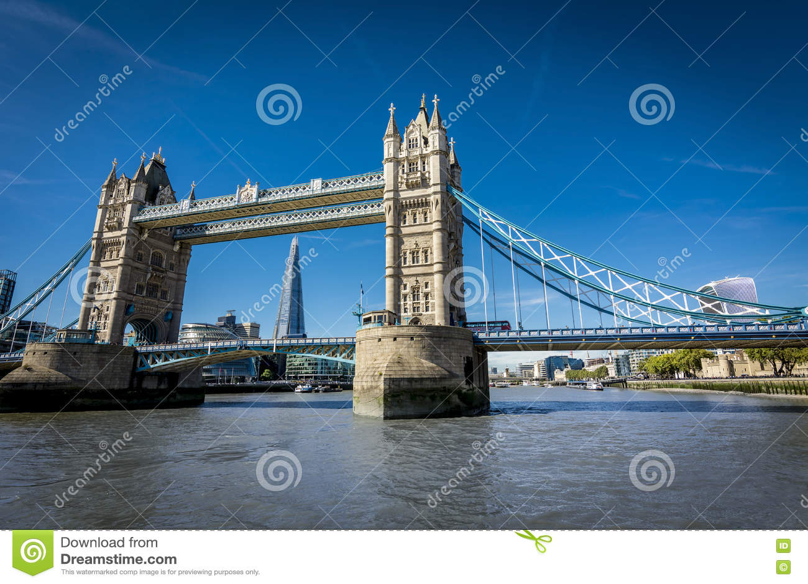 Londyn od Thames