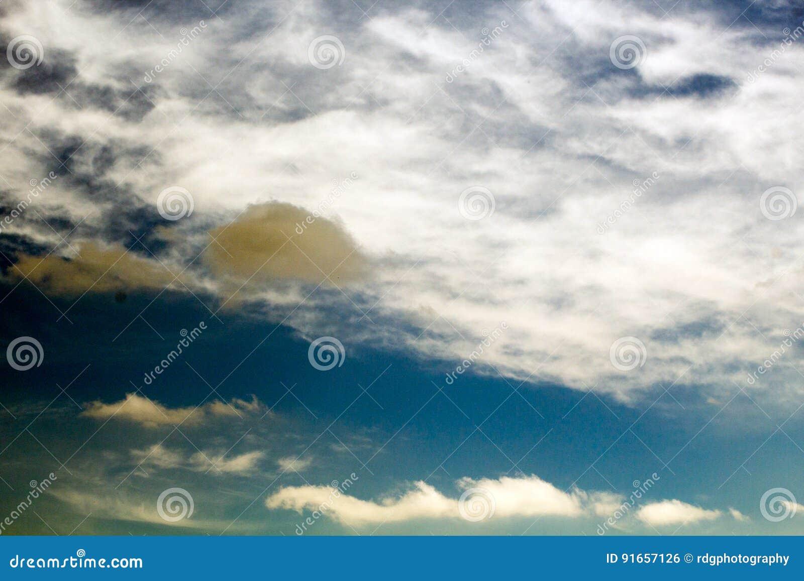 Lone Rain Cloud