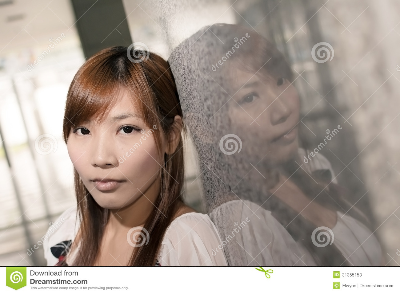 Lonely asian