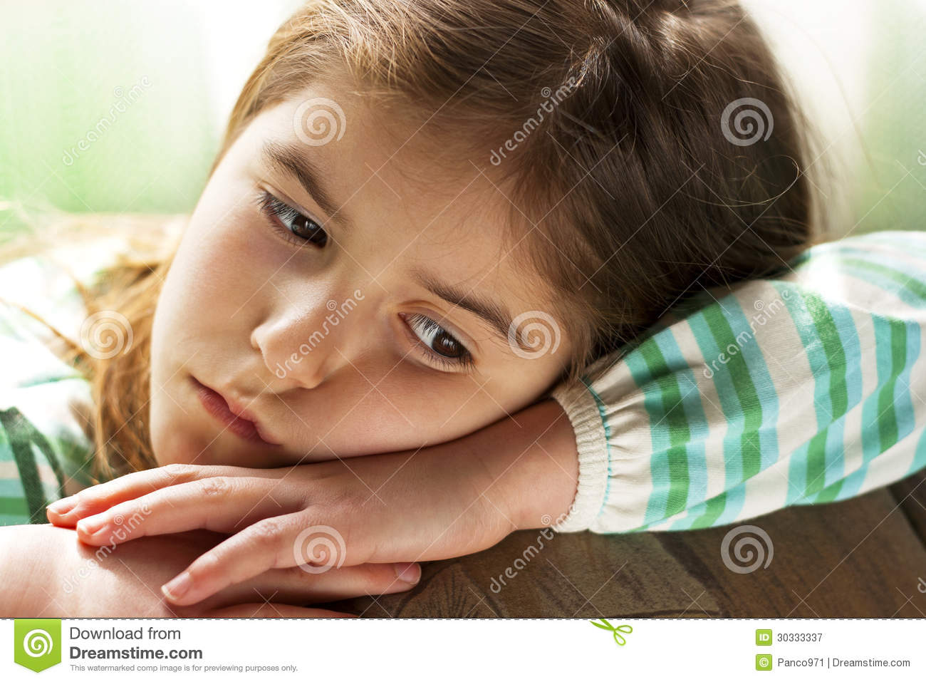 lonely child royalty free stock photography