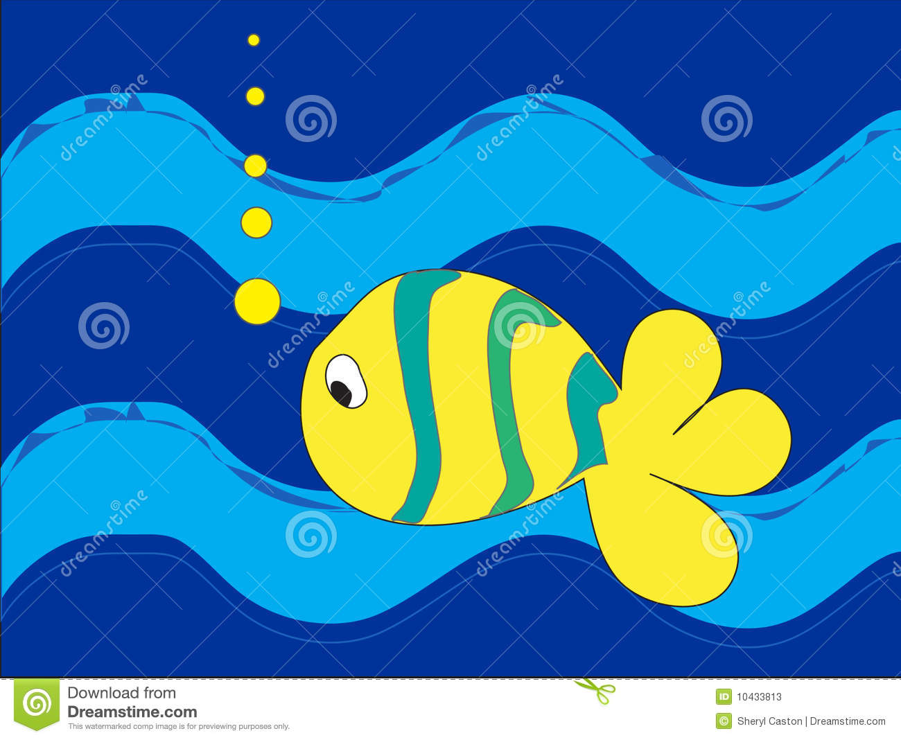 Lonely Fish - Bright Colored Stock Photos - Image: 10433813: dreamstime.com/stock-photos-lonely-fish-bright-colored-image10433813