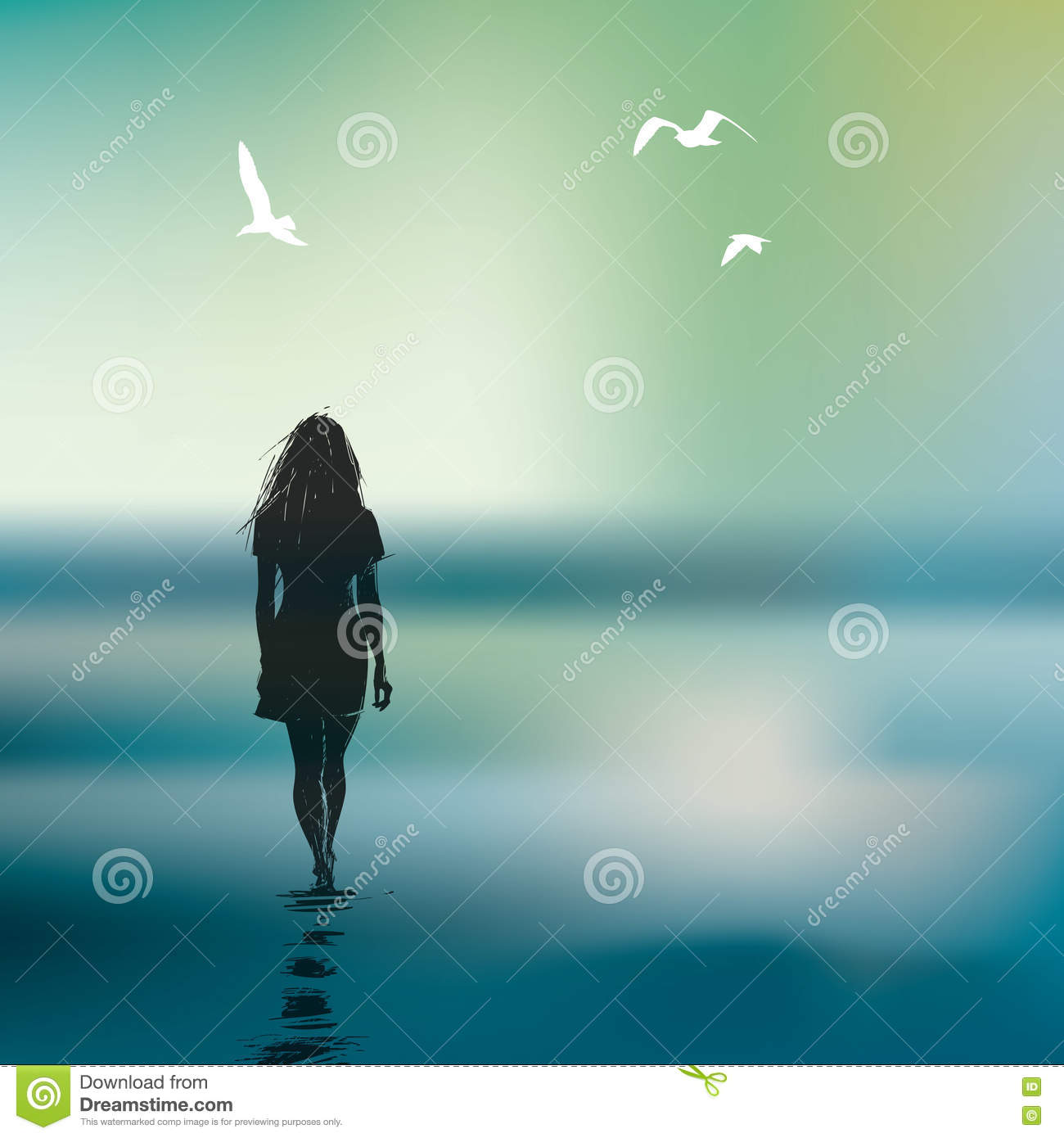 Images lonely girl