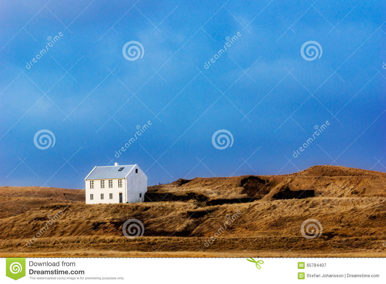 Lonely house stock photo image 65784407 for Iceland lonely house