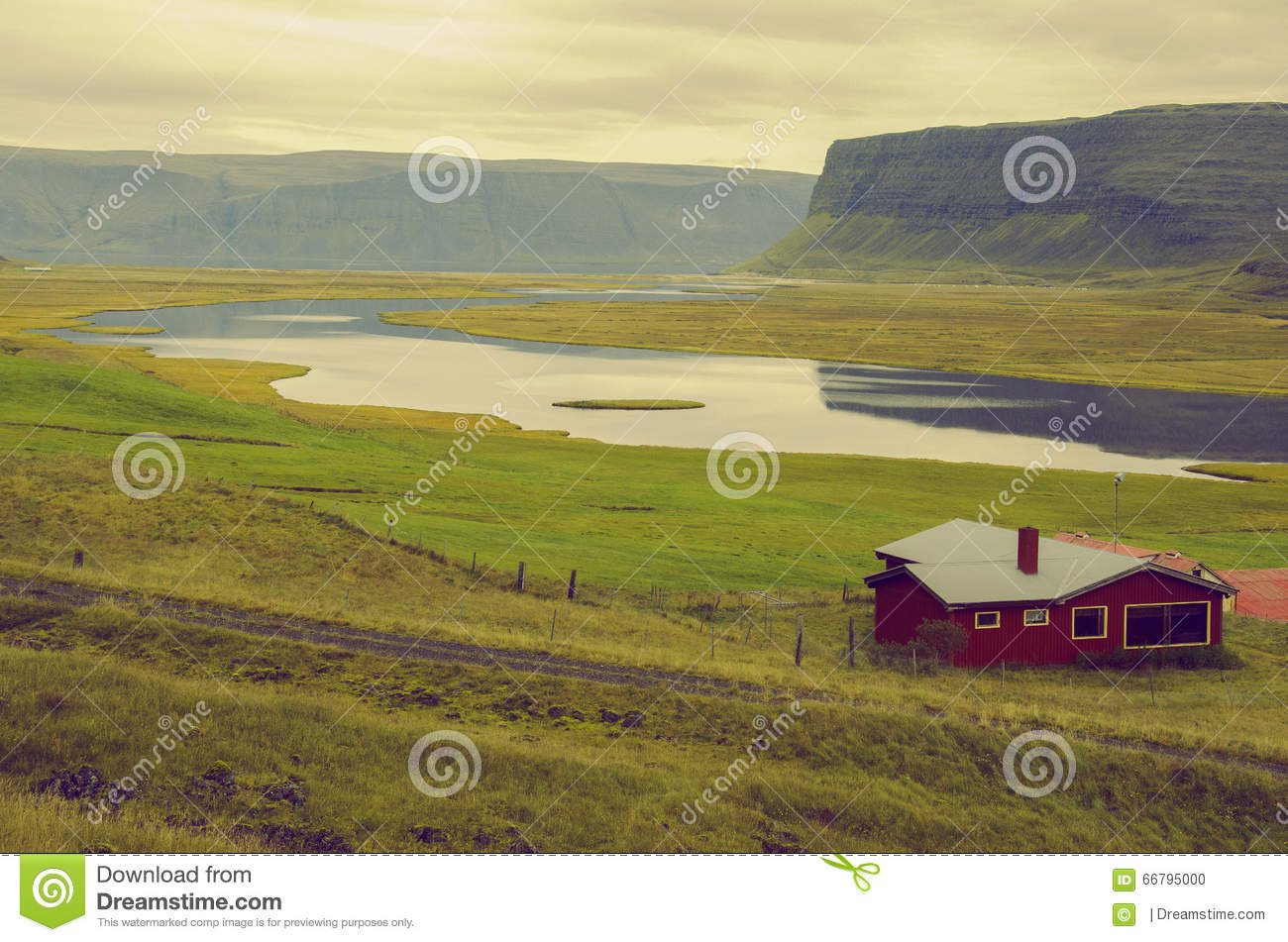 Lonely house stock photo image 66795000 for Iceland lonely house