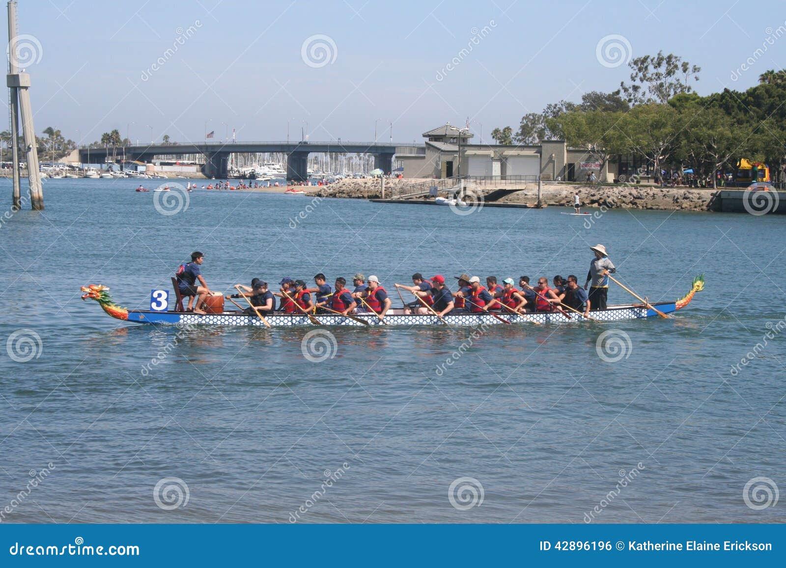 Long Beach Dragon Boat Festival Race Results