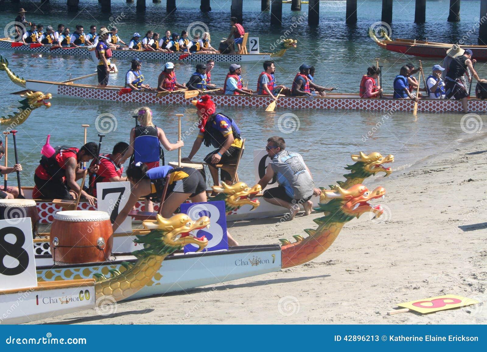 Long Beach Dragon Boat Festival Editorial Stock Photo ...