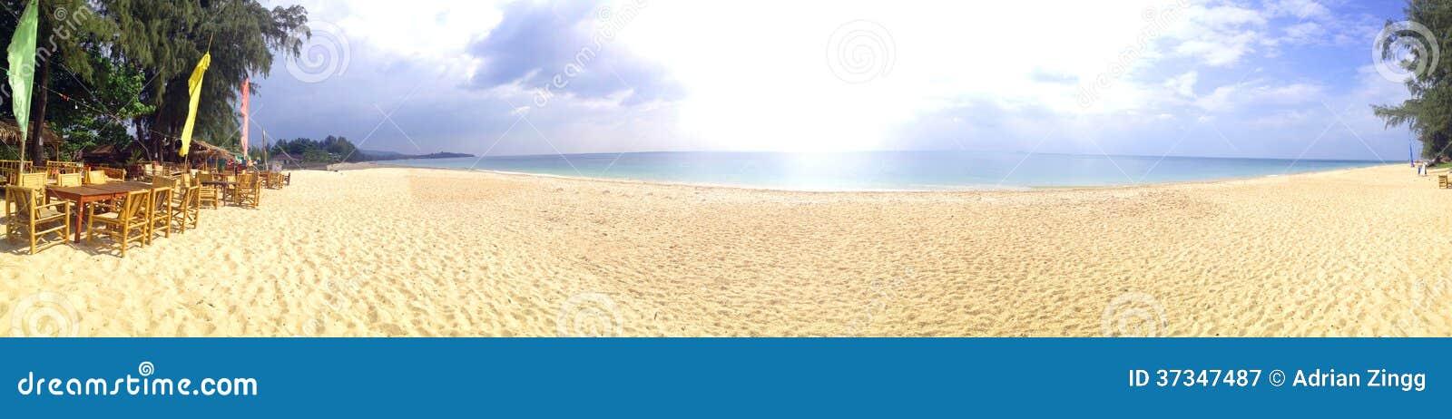 Long Beach panorama