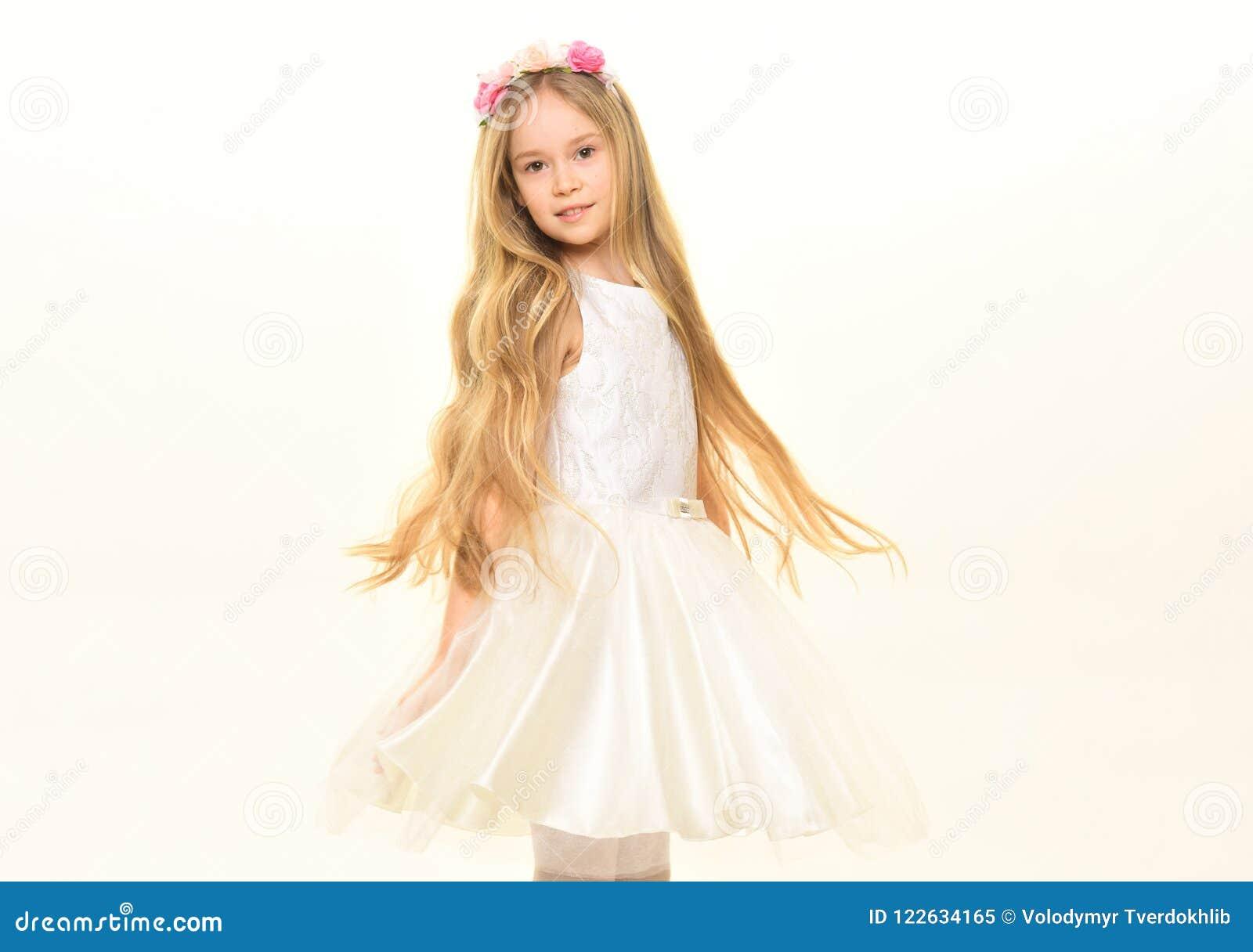 Long Cheveu Petite Fille Avec De Longs Cheveux Longs Cheveux