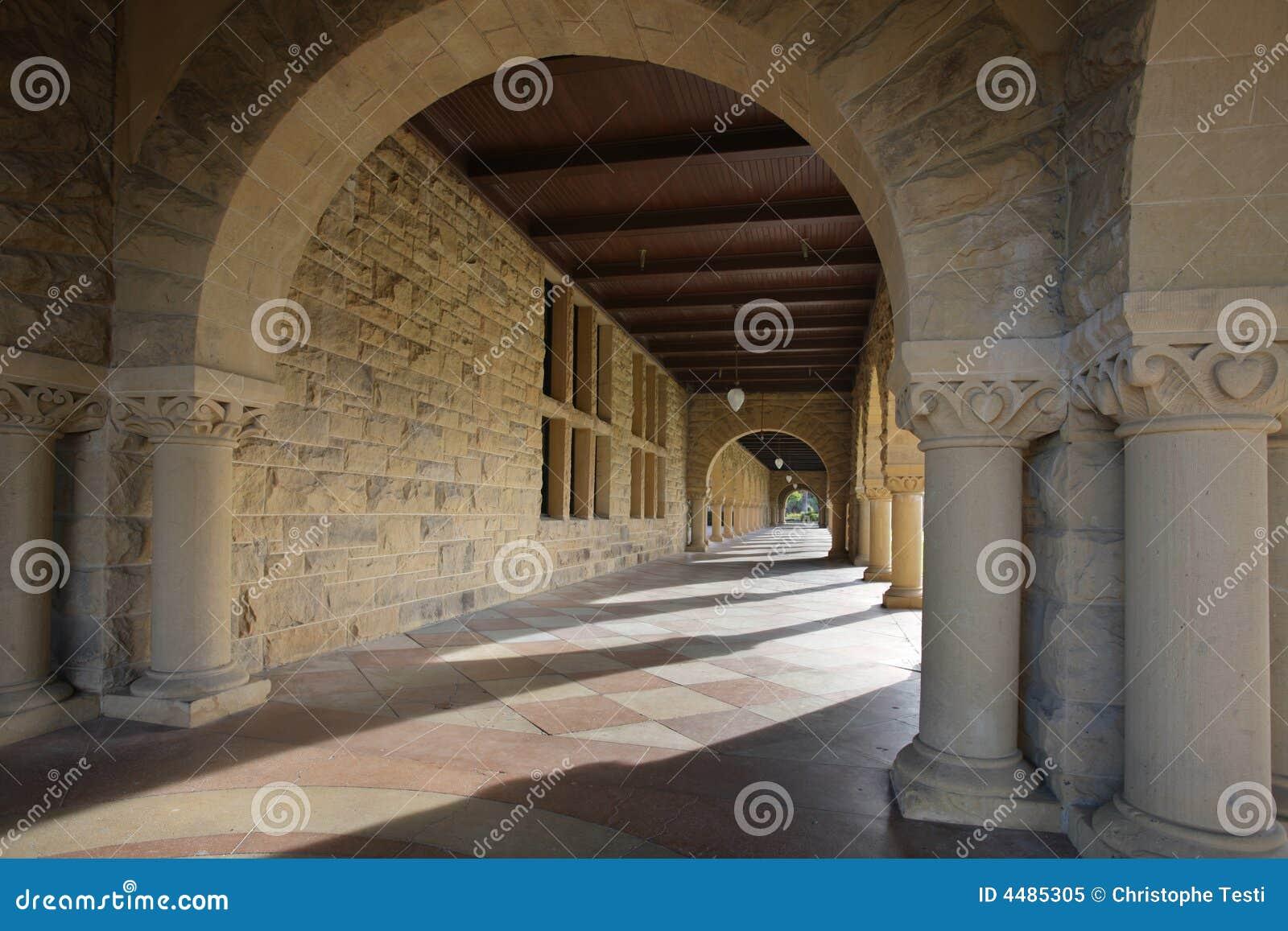 Long couloir des archie