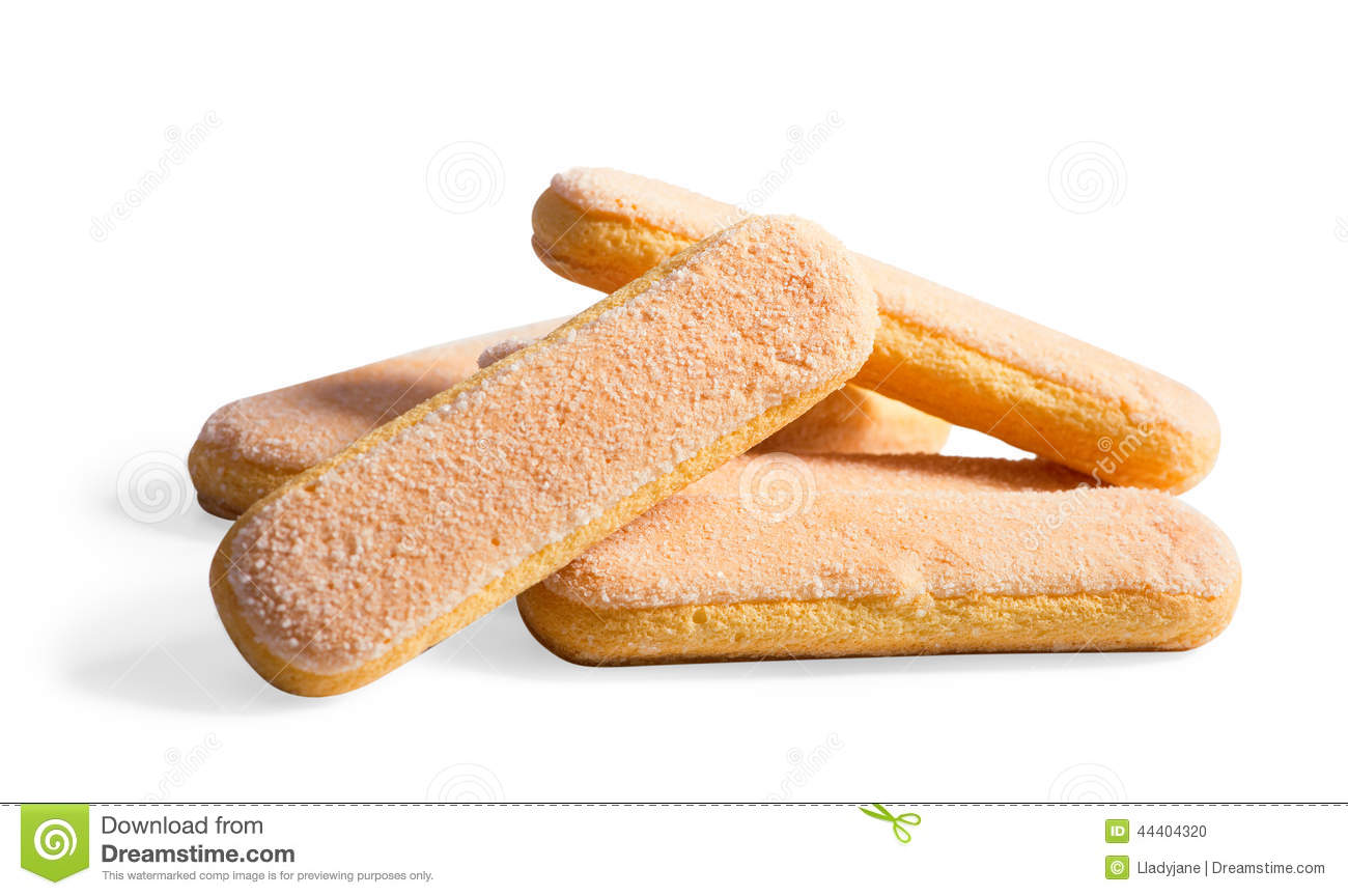 Long Crispy Biscuits With Sugar Stock Photo Image Of Food