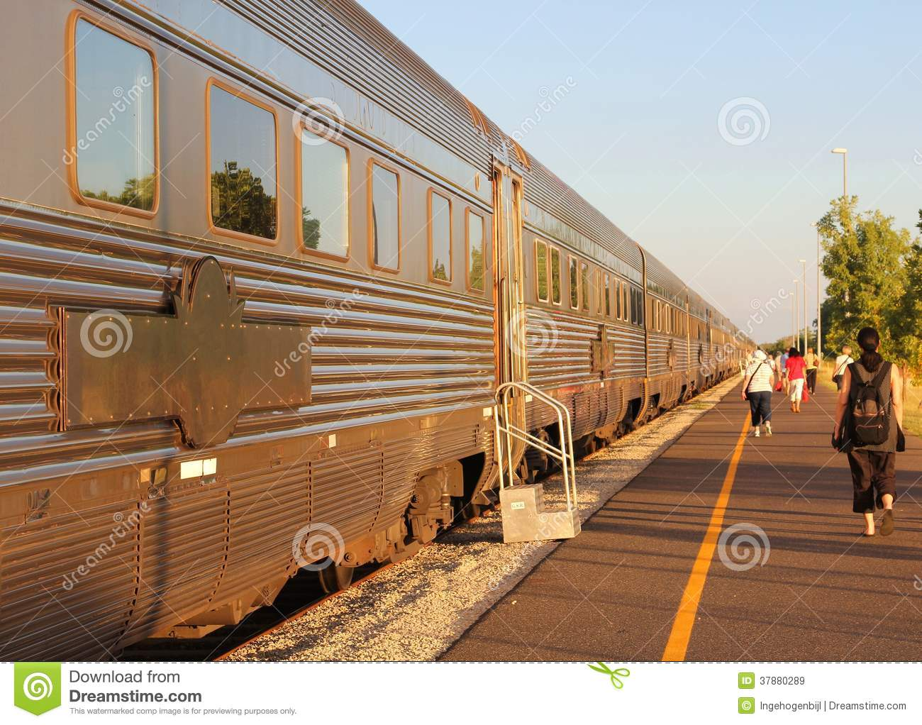 Long Distance Train Travel Australia