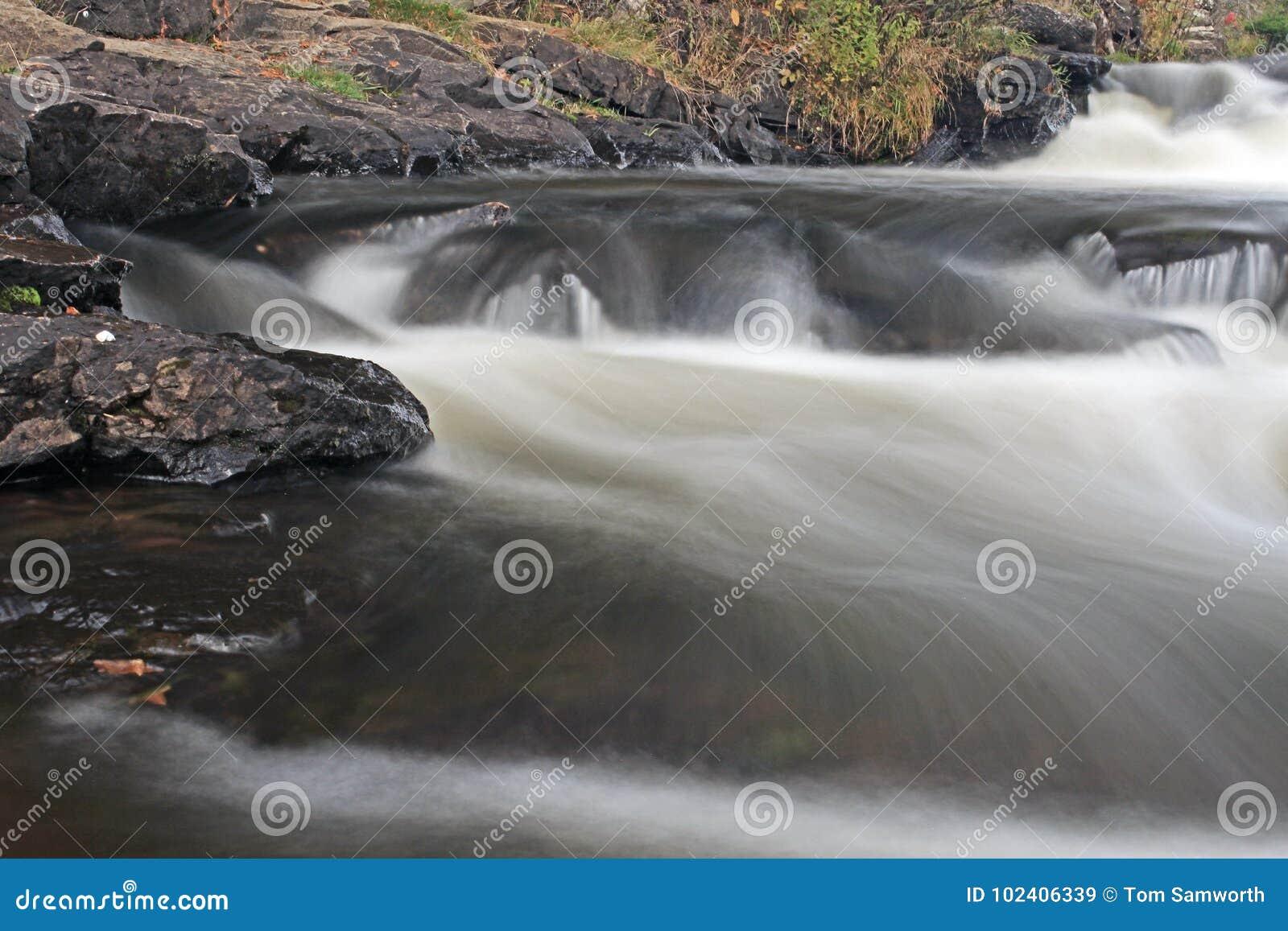 Furnace Falls In Autumn