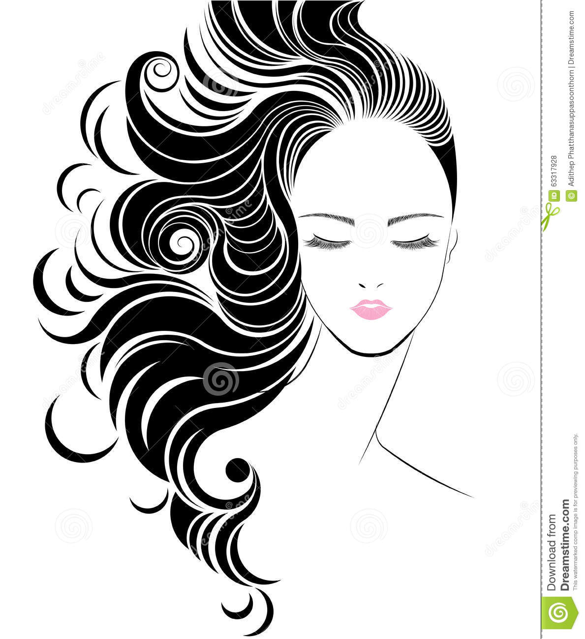style icon hair hair styling logos studio design gallery best design 5836