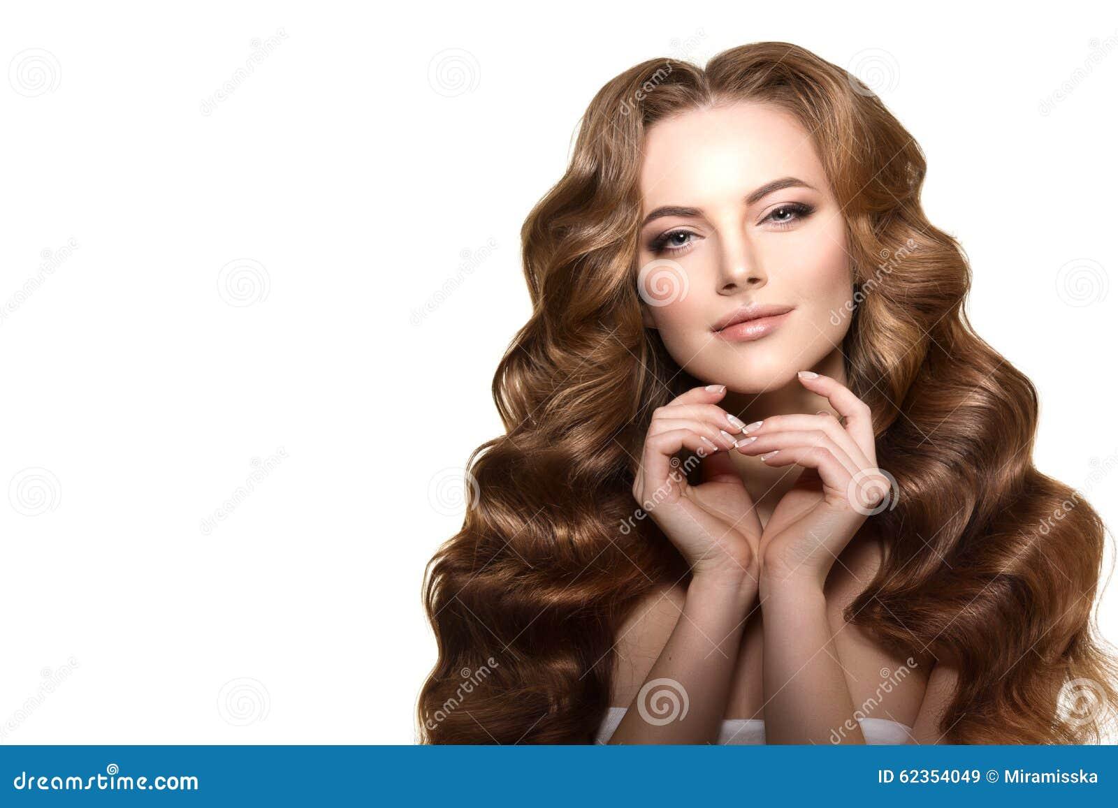 Salon Fashion Hair Model Stock Images Photos - Haircut girl model