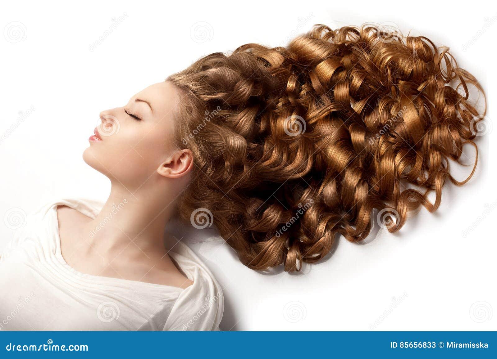 Fashion Beauty Salon: Salon Fashion Hair Model Stock Photography