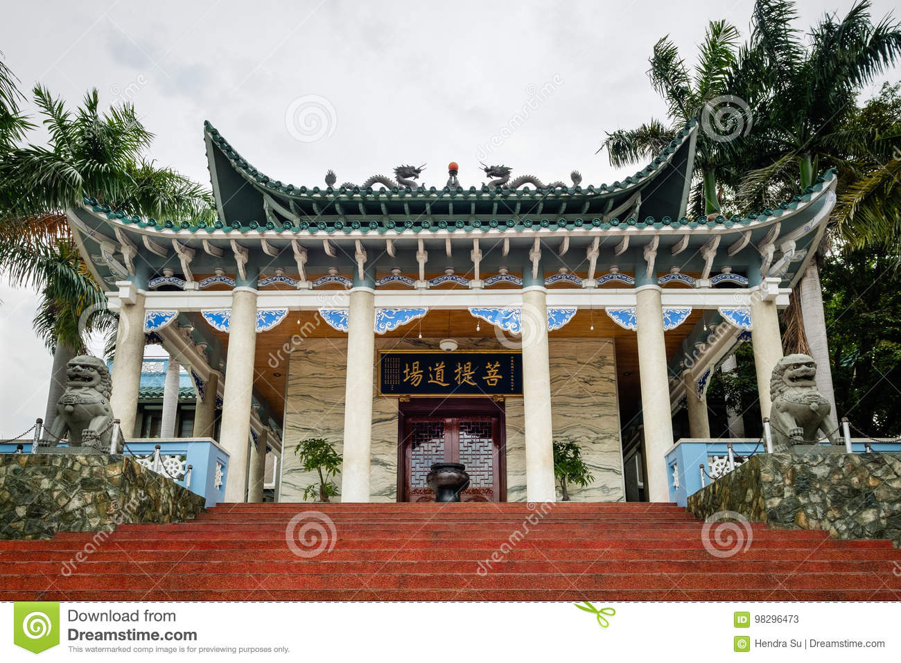 Long Hua temple in Davao City - Philippines