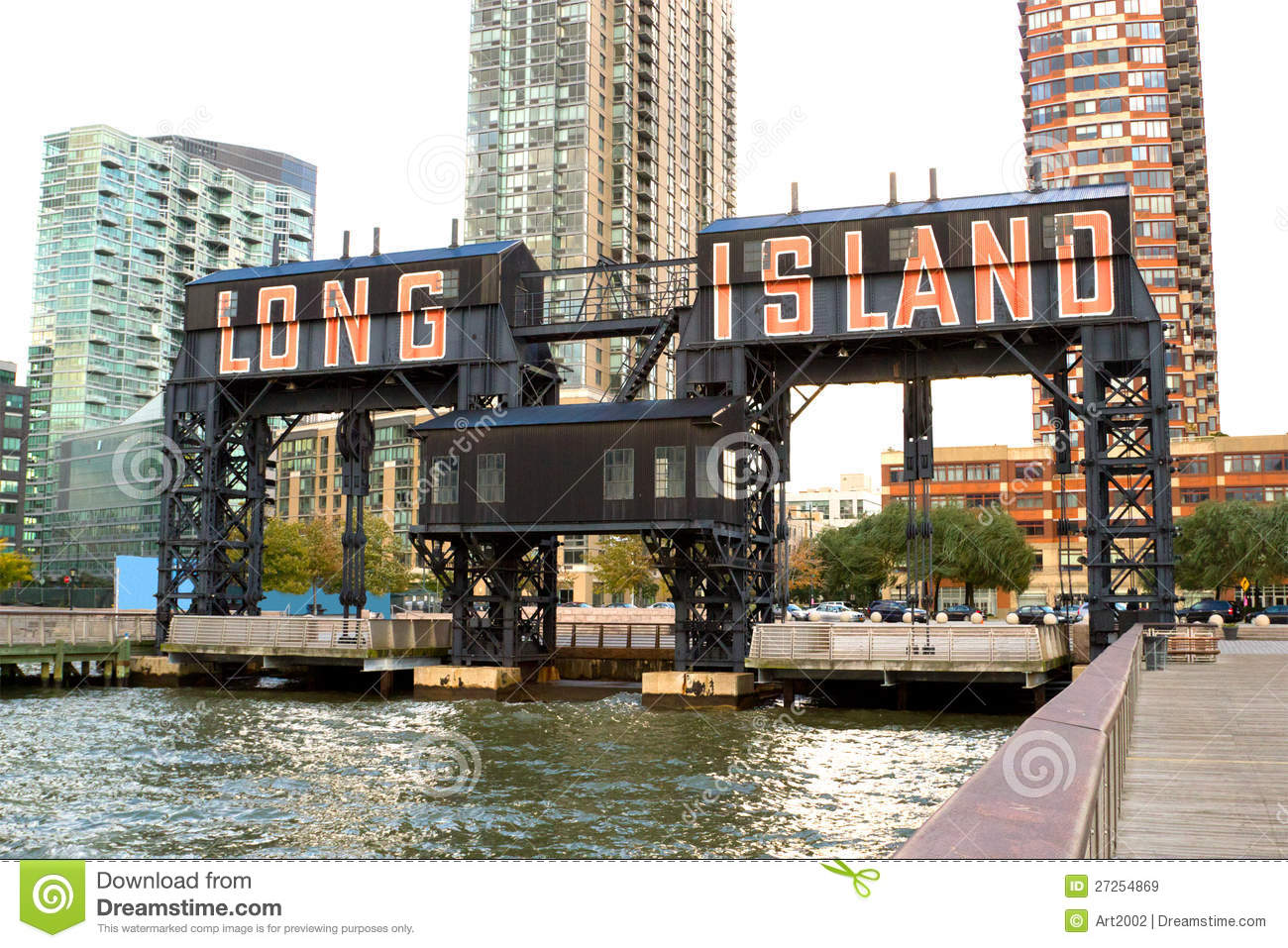 long island city pier new york royalty free stock images image 27254869. Black Bedroom Furniture Sets. Home Design Ideas