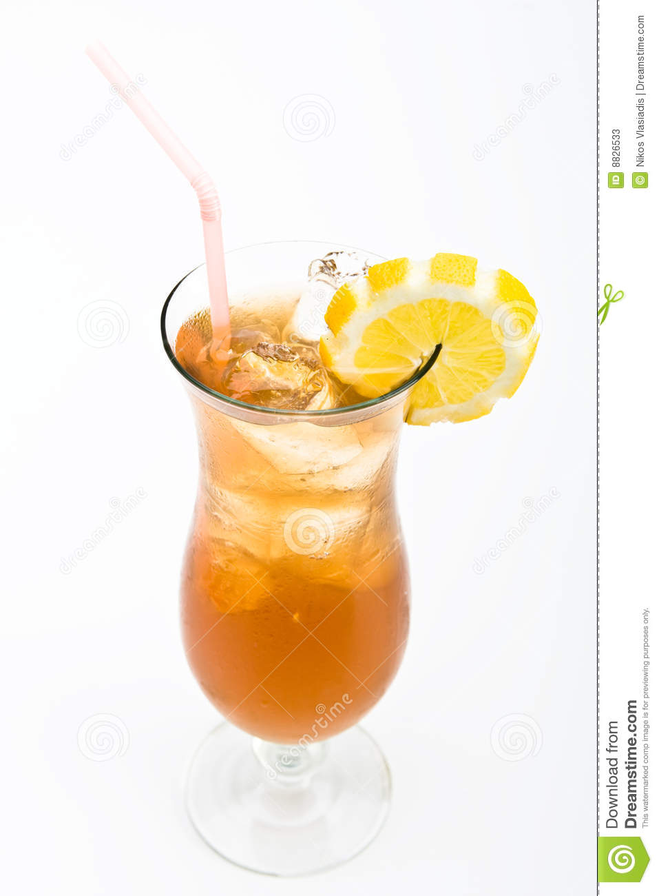 Long island cocktail stock photos image 8826533 for Cocktail long island