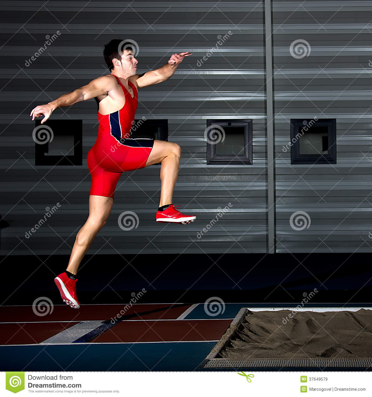 Long Jump Athlete Royalty-Free Stock Photography ...