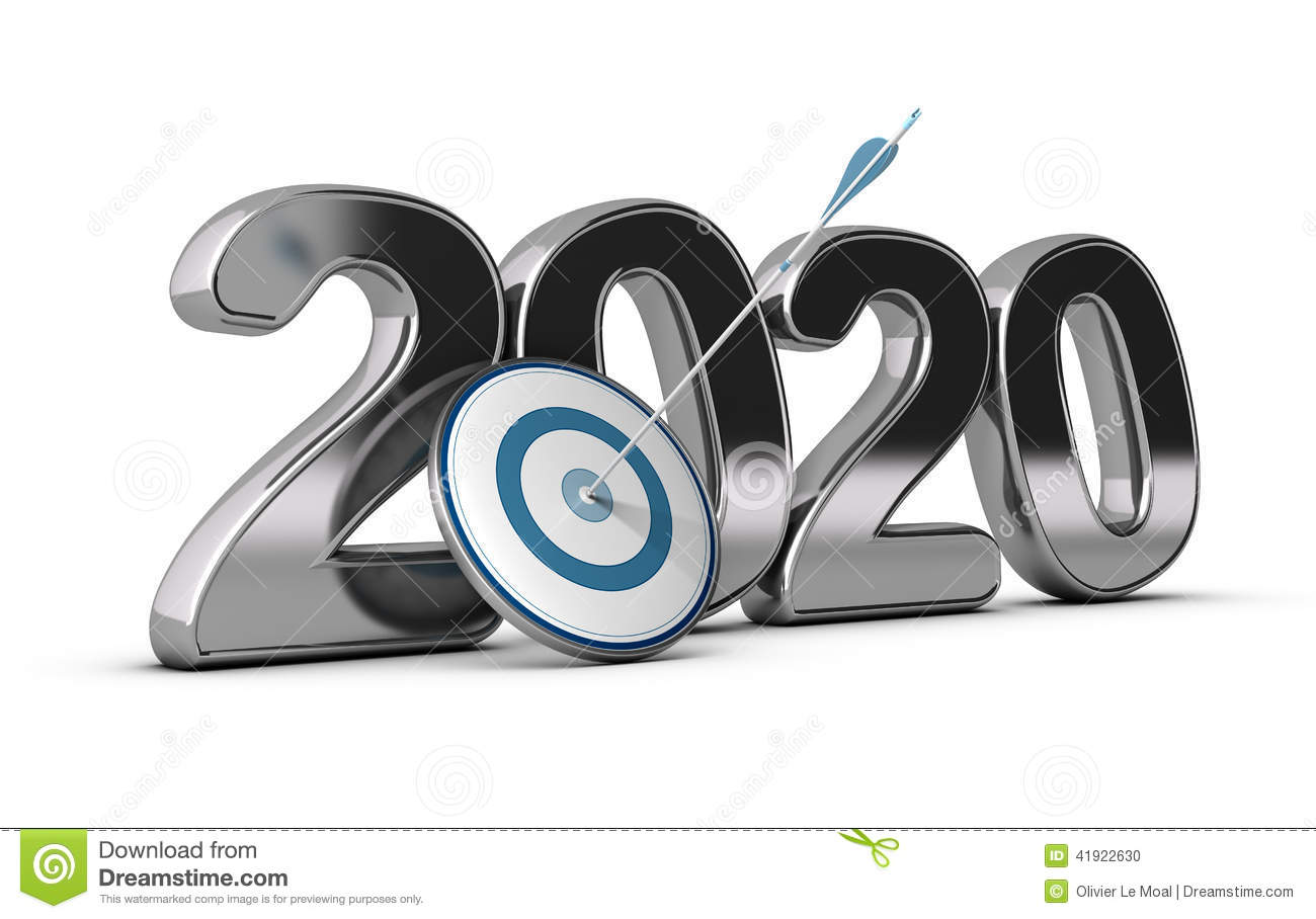 2020 year, two thousand twenty wit on target