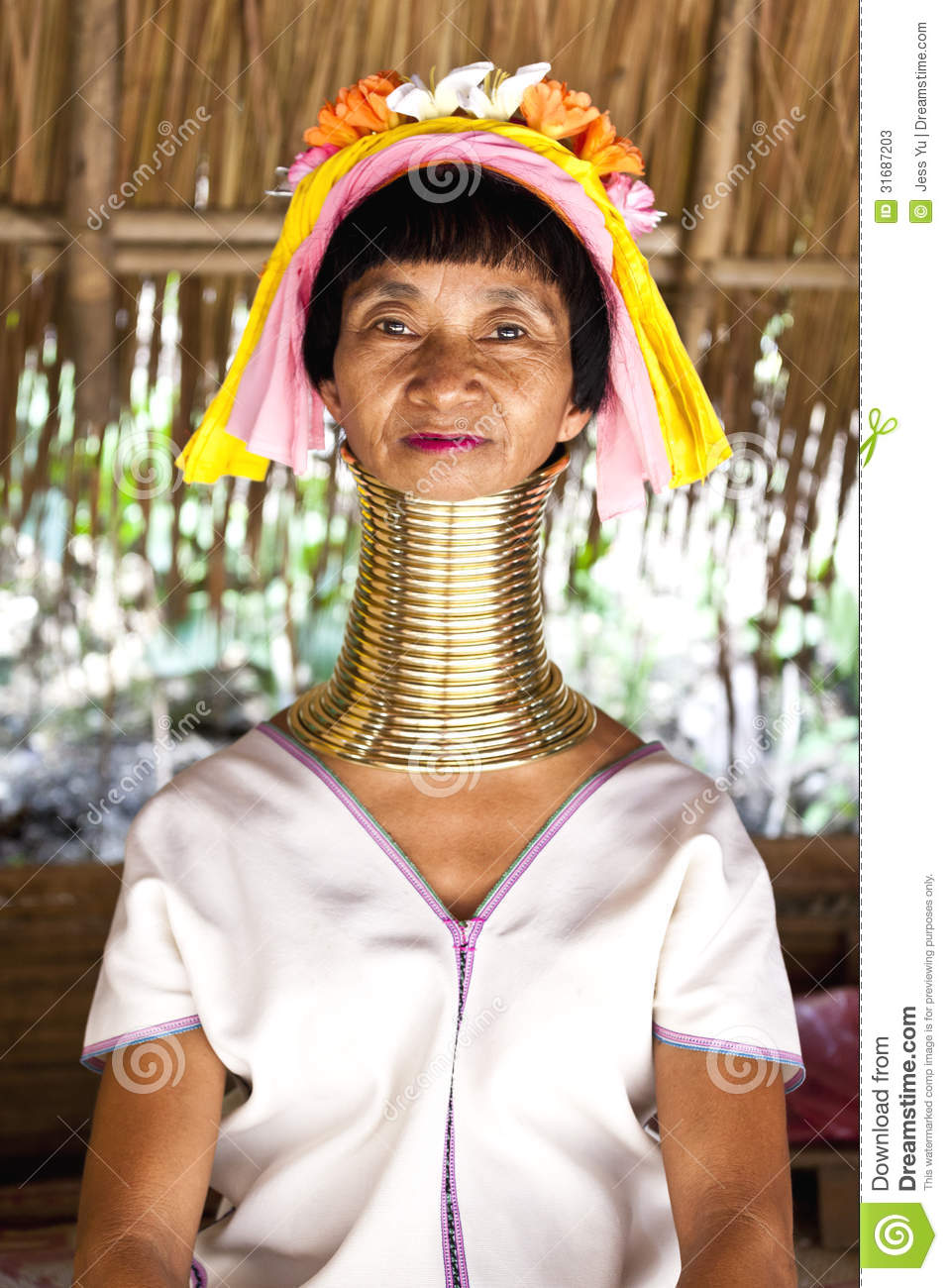Long neck woman in thailand editorial stock photo image of exotic long neck woman in thailand kristyandbryce Choice Image