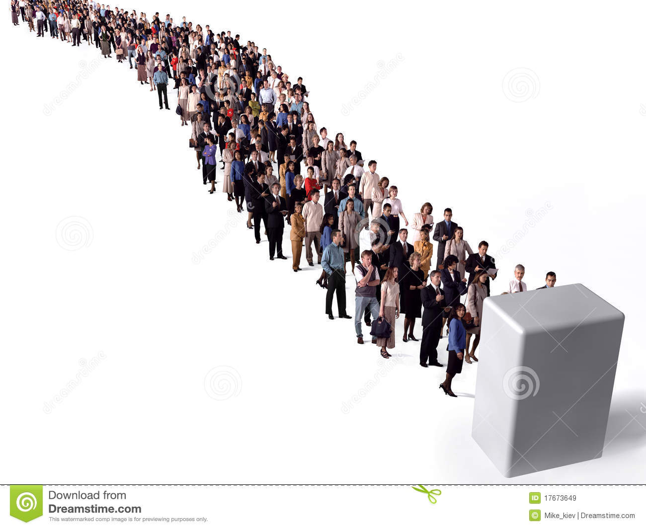 long queue of people royalty free stock images image