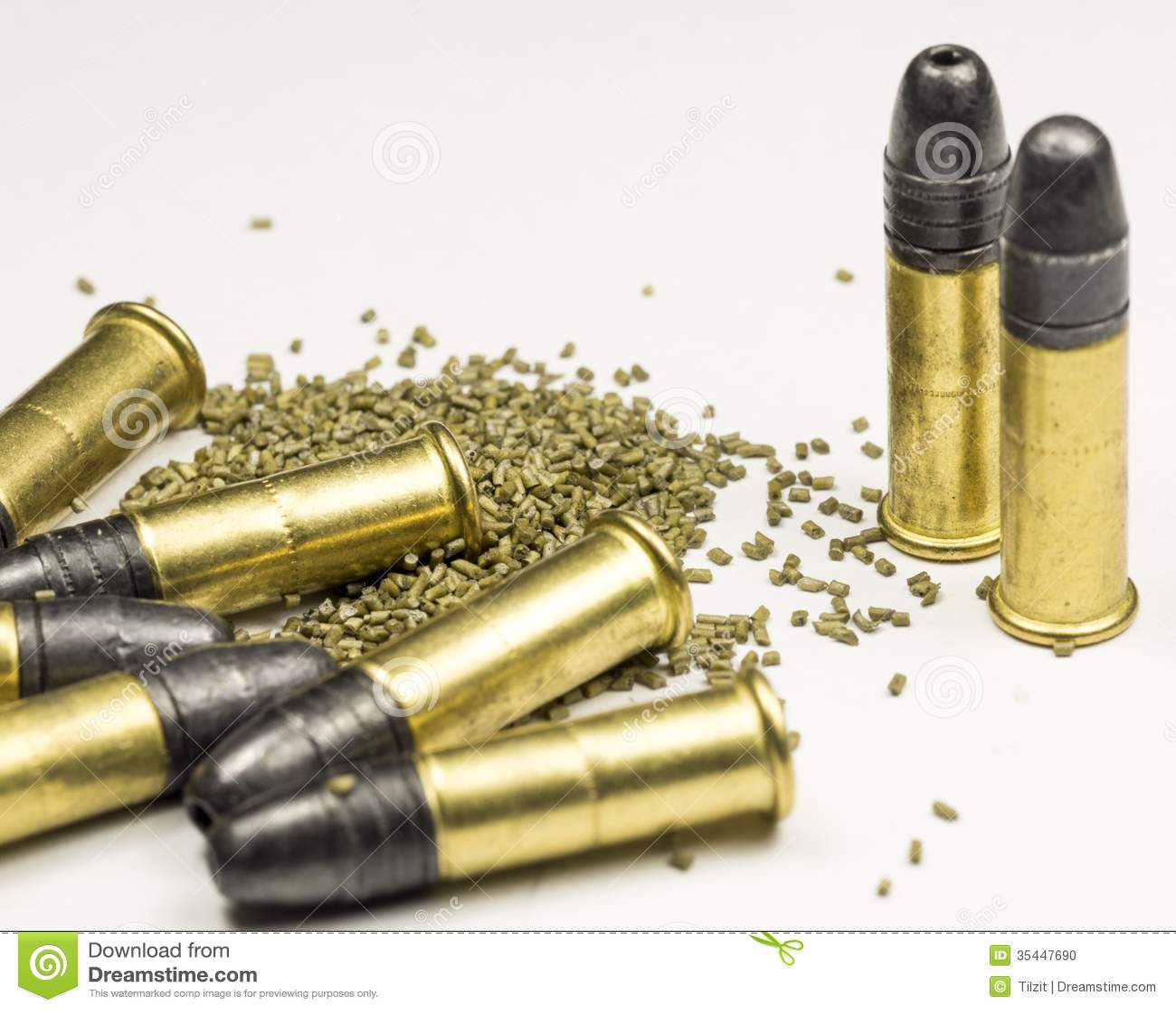 22 long rifle ammunition stock image image of white 21847637