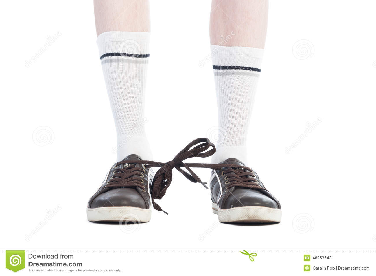 Shoe Laces Royalty-Free Stock Photo