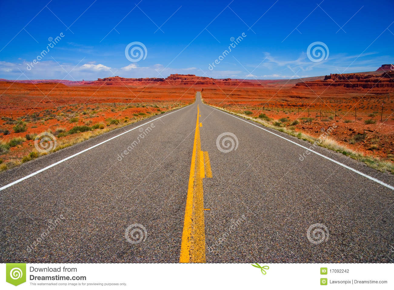 Download Long Straight Road stock photo. Image of route, black - 17092242