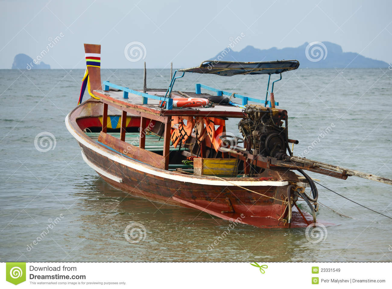Long Tail Boat Royalty Free Stock Images - Image: 23331549