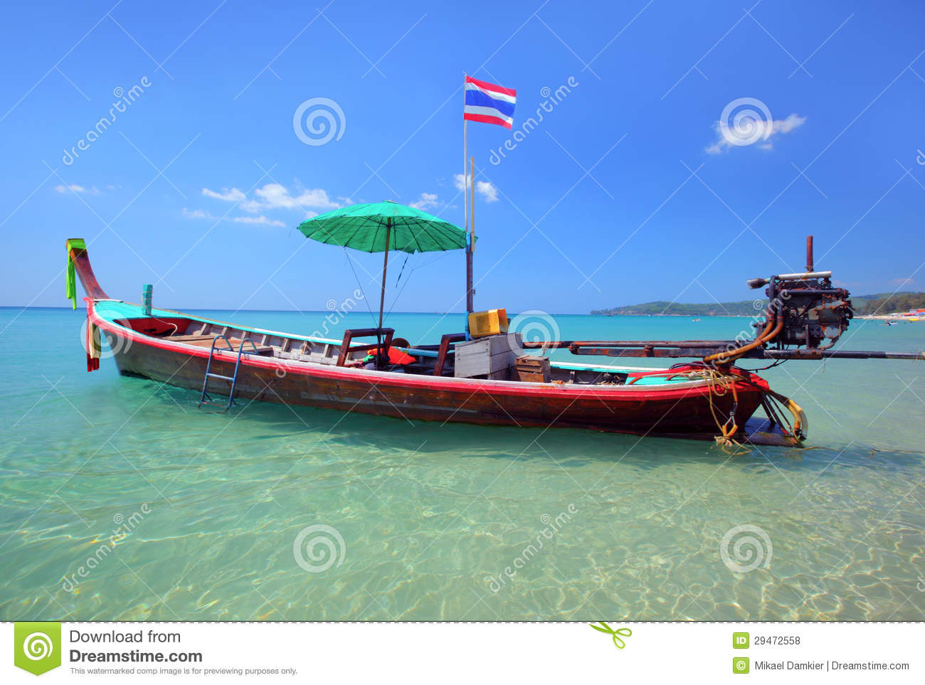 Long Tail Boat In Thailand Royalty Free Stock Photos - Image: 29472558