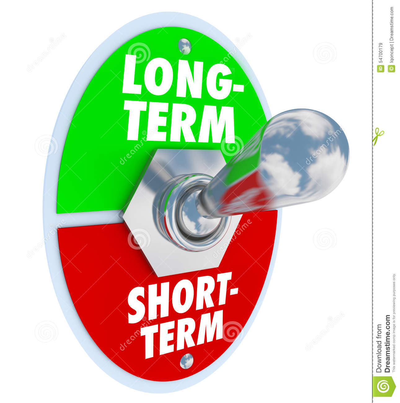 Long And Short Term : Long vs short term toggle switch more time investment
