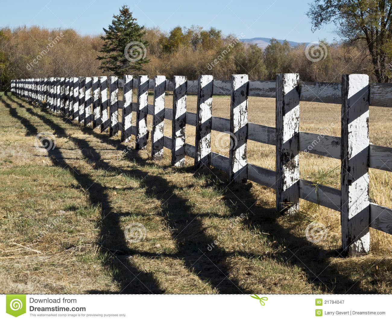 Long wooden fence royalty free stock photography image 21794047 - Rustic wood fences a pastoral atmosphere ...