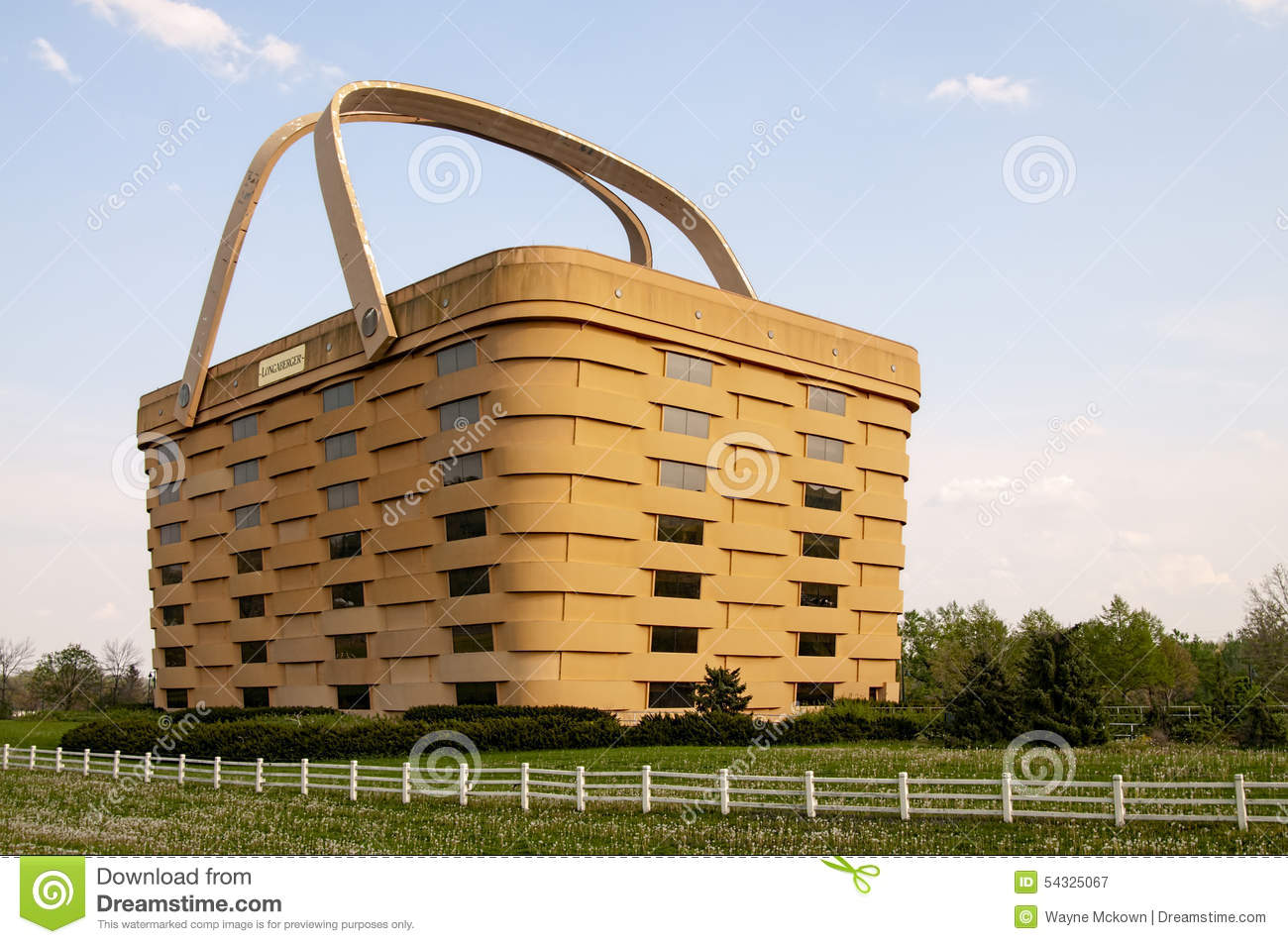 Longaberger Picnic Basket Building