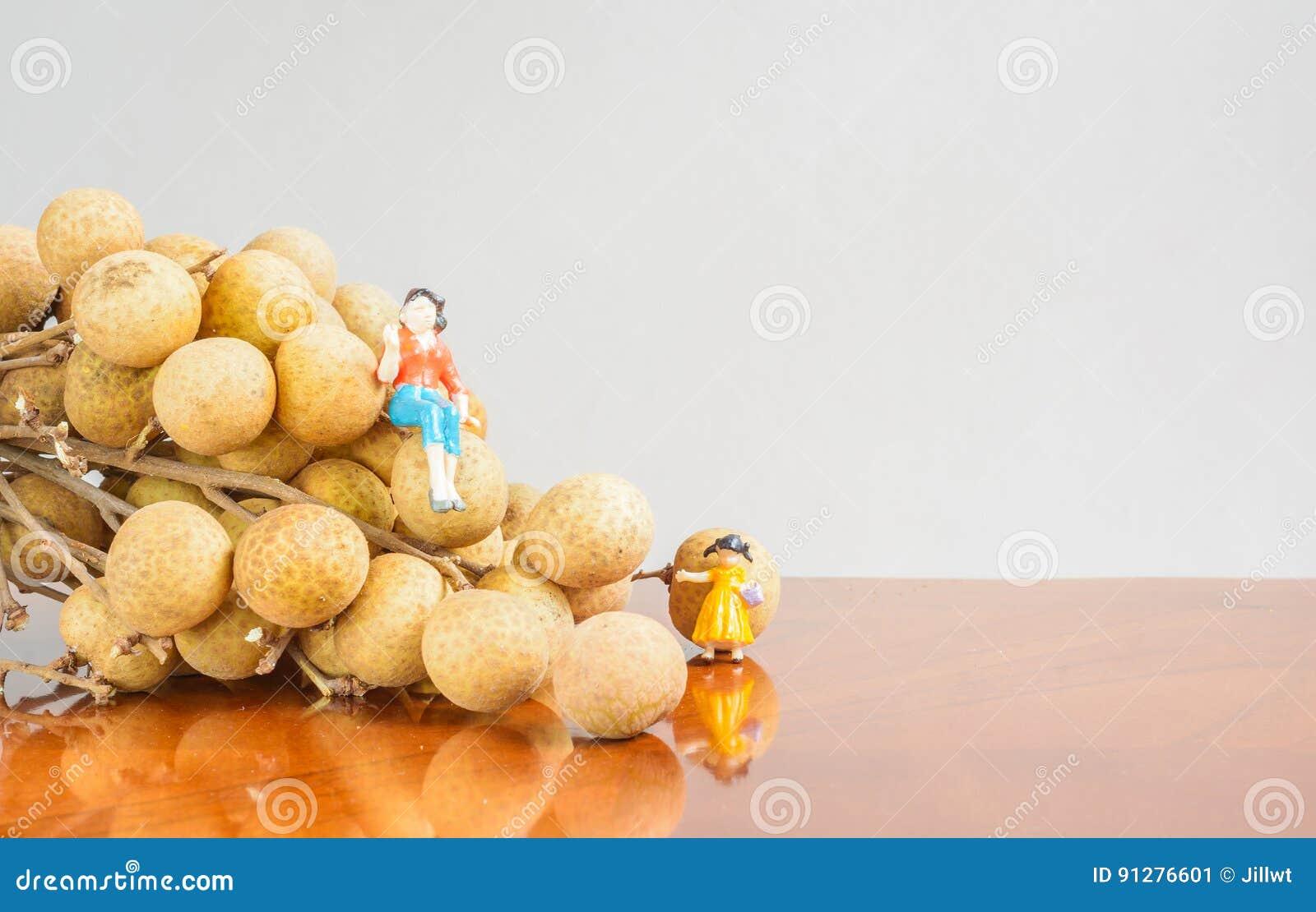 Longan frukt