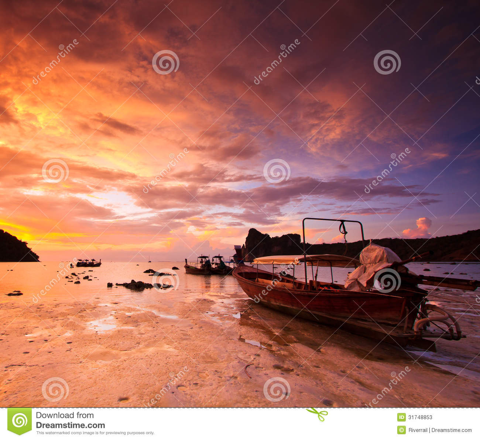 sunset sailing boats rocks - photo #26