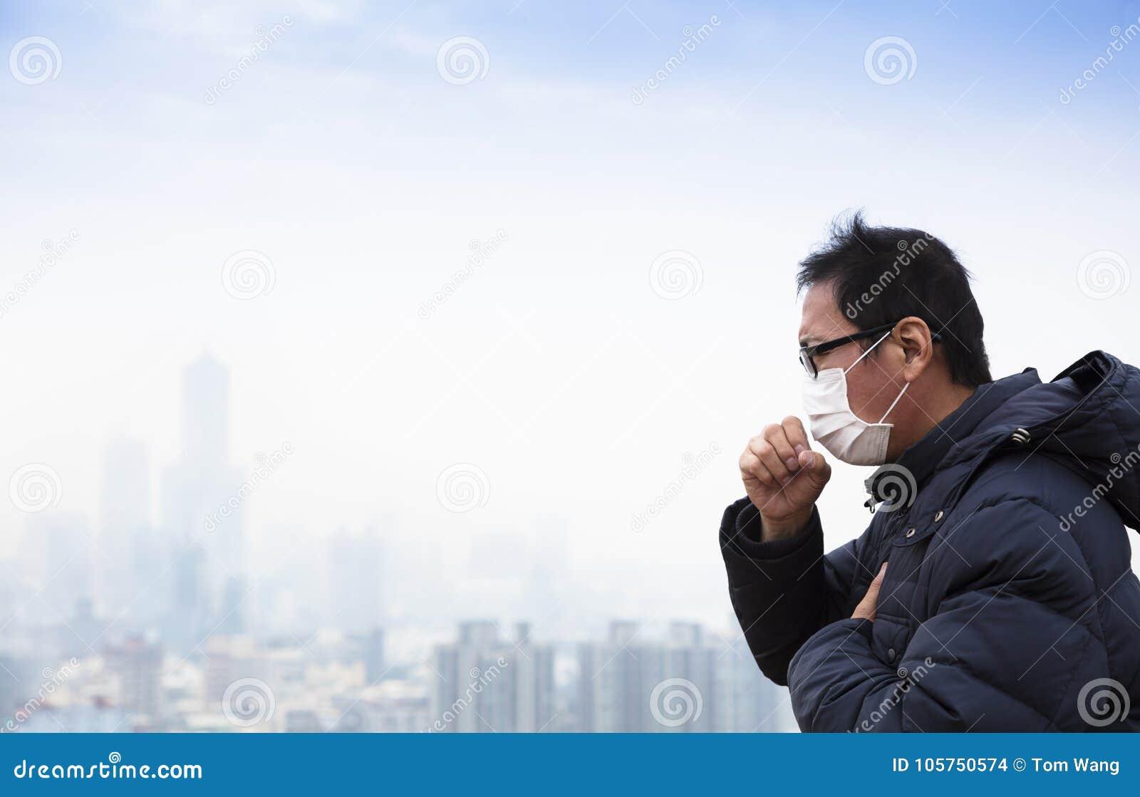 Longkankerpatiënten met smogstad