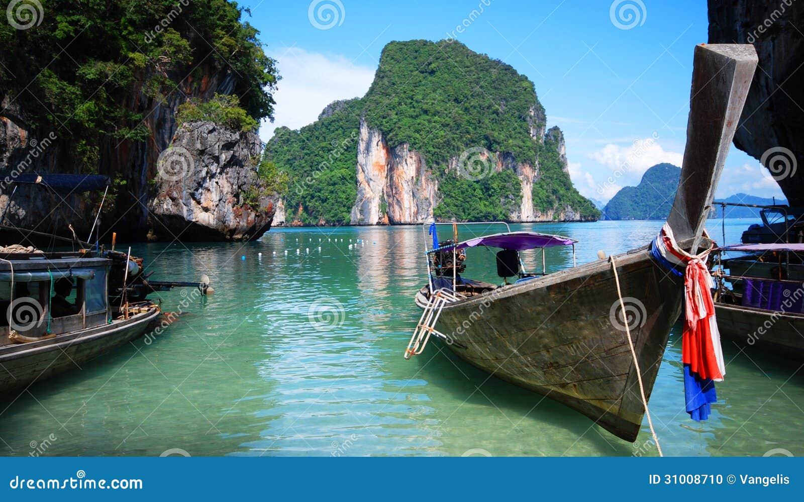 Longtailboten in Thailand