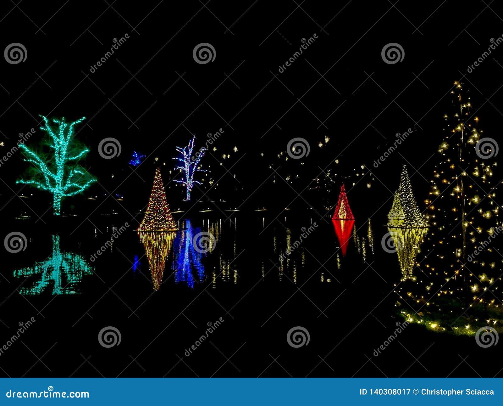 Longwood cultiva un huerto celebración de la Navidad