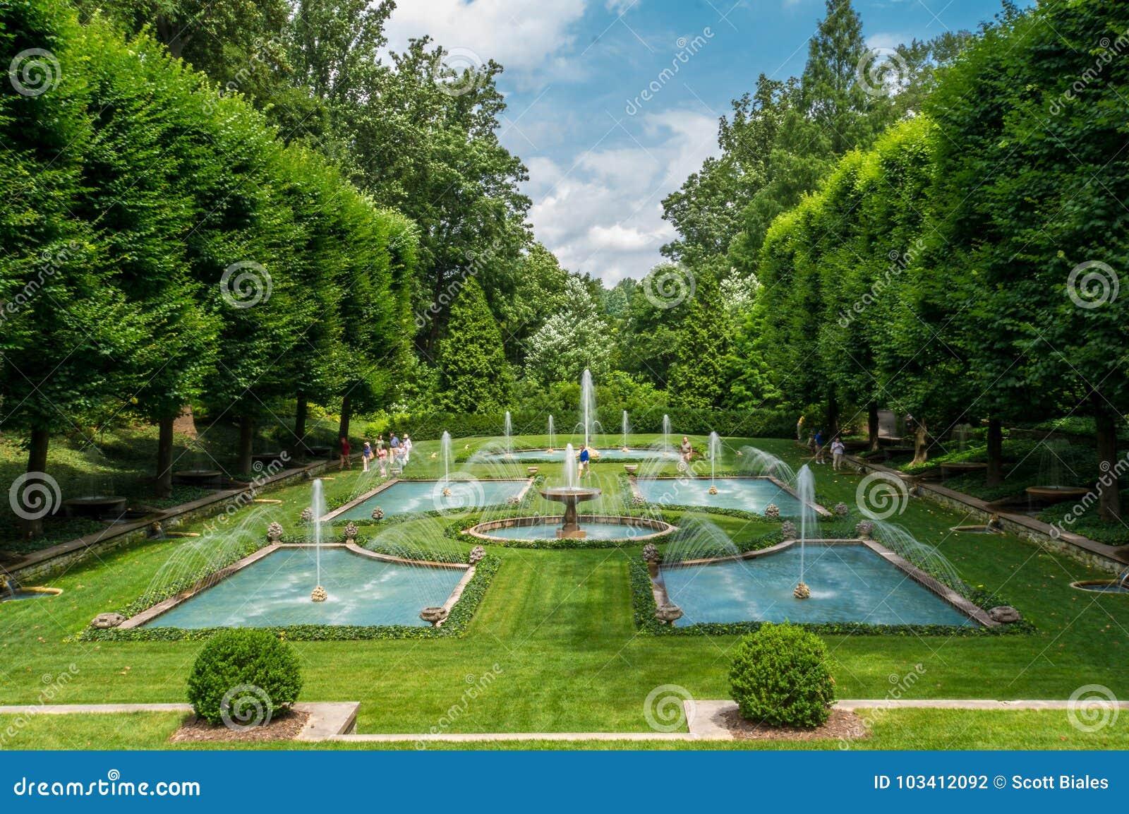 Longwood trädgårdar - Philadelphia, PA