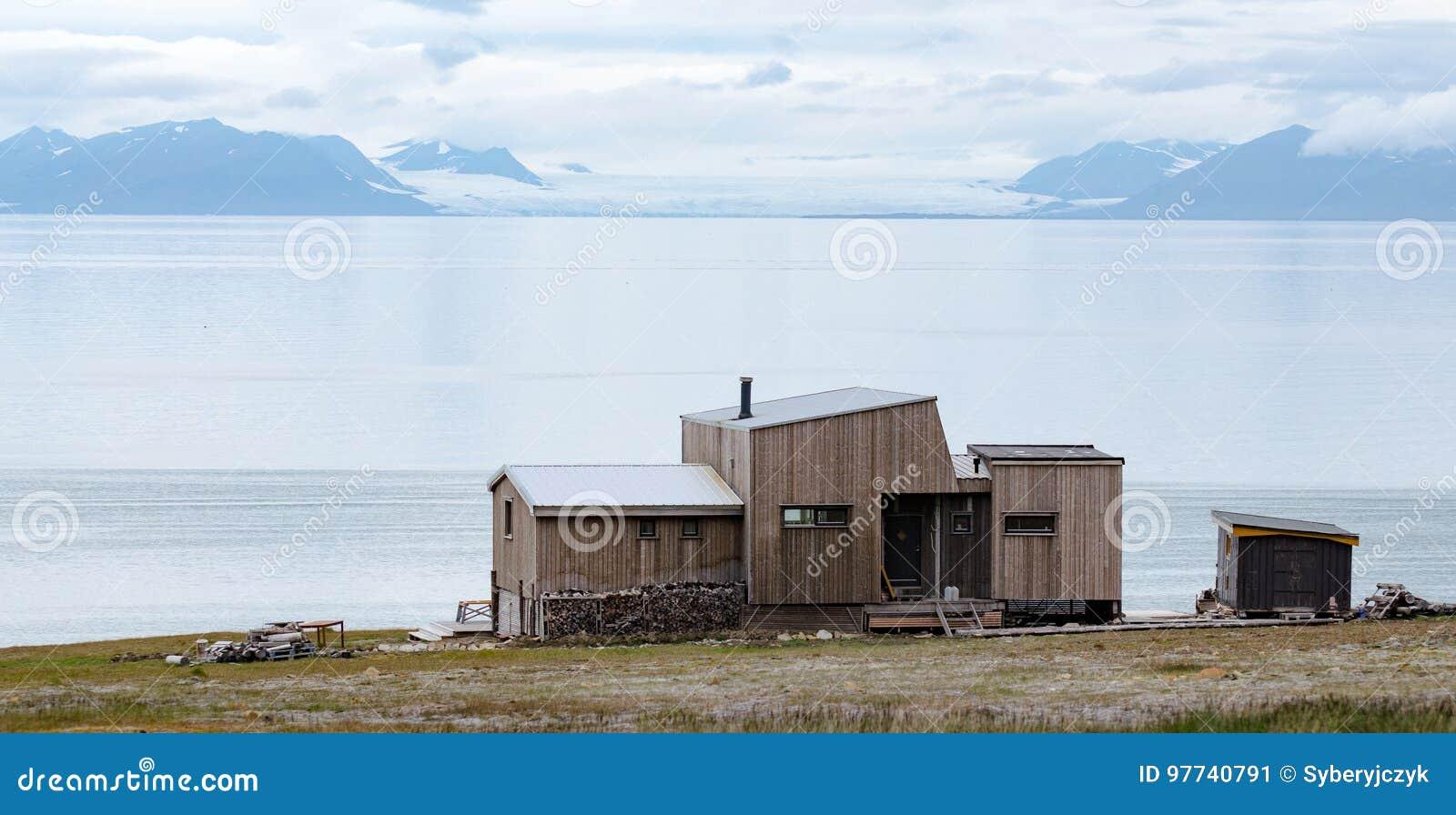 Longyearbyen Spitsbergen, le Svalbard, Norvegia