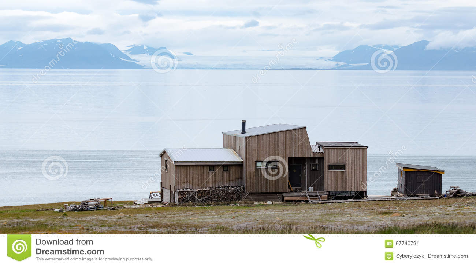 Longyearbyen Spitsbergen, Svalbard, Noruega