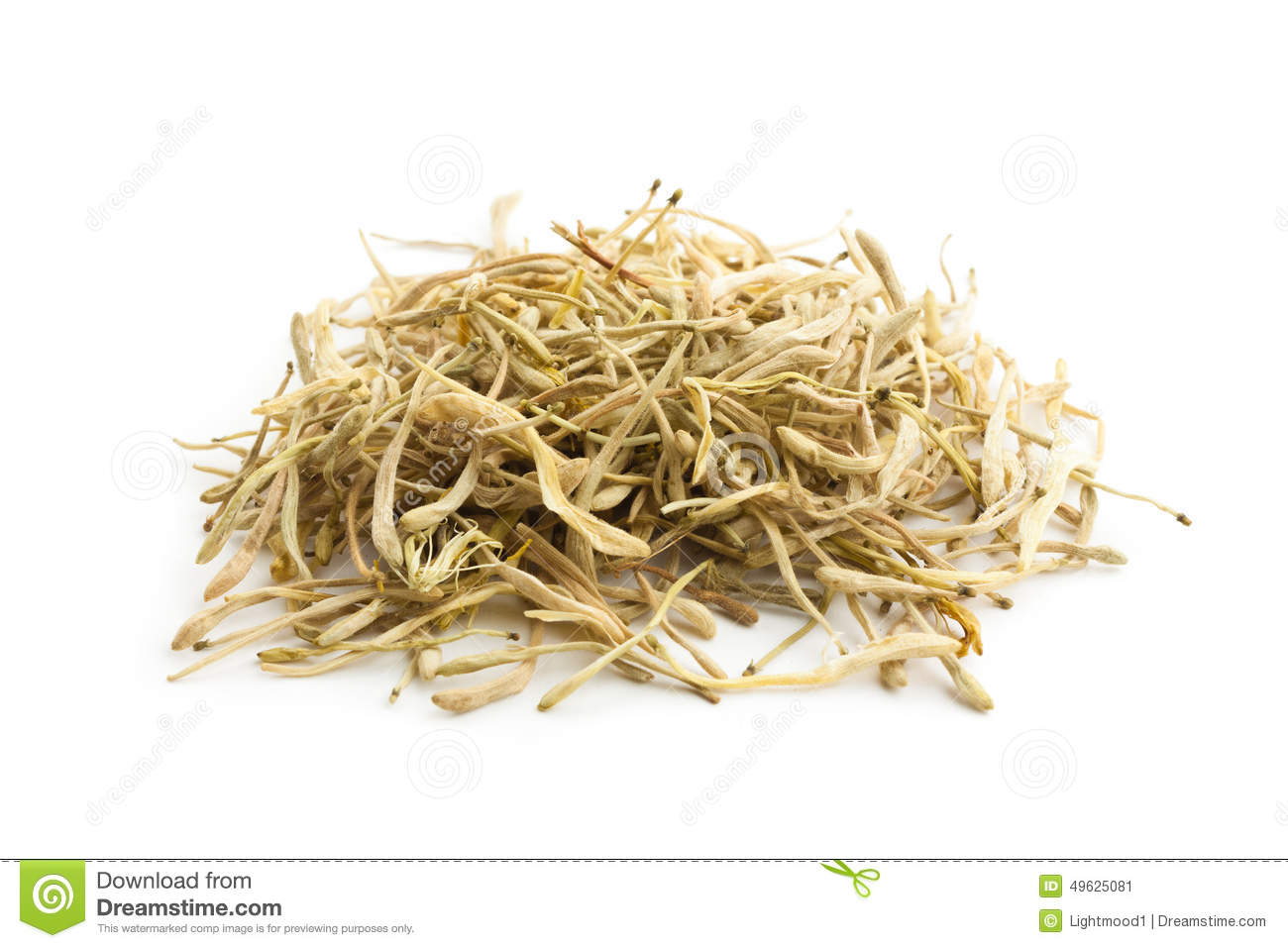 Lonicera Japonica Traditional Chinese Medicine Stock Image Image