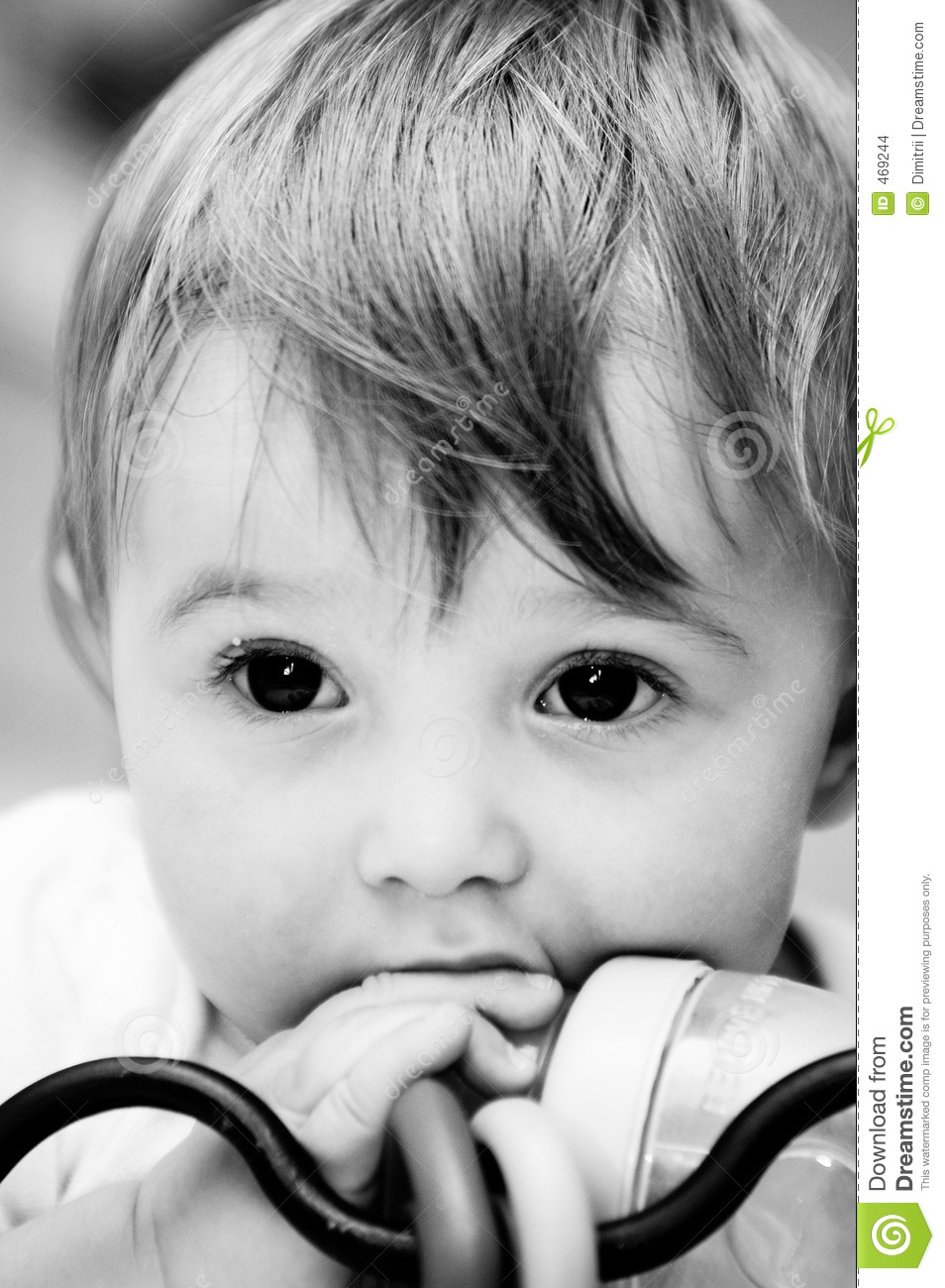 Download The look stock photo. Image of baby, child, nutrition, white - 469244