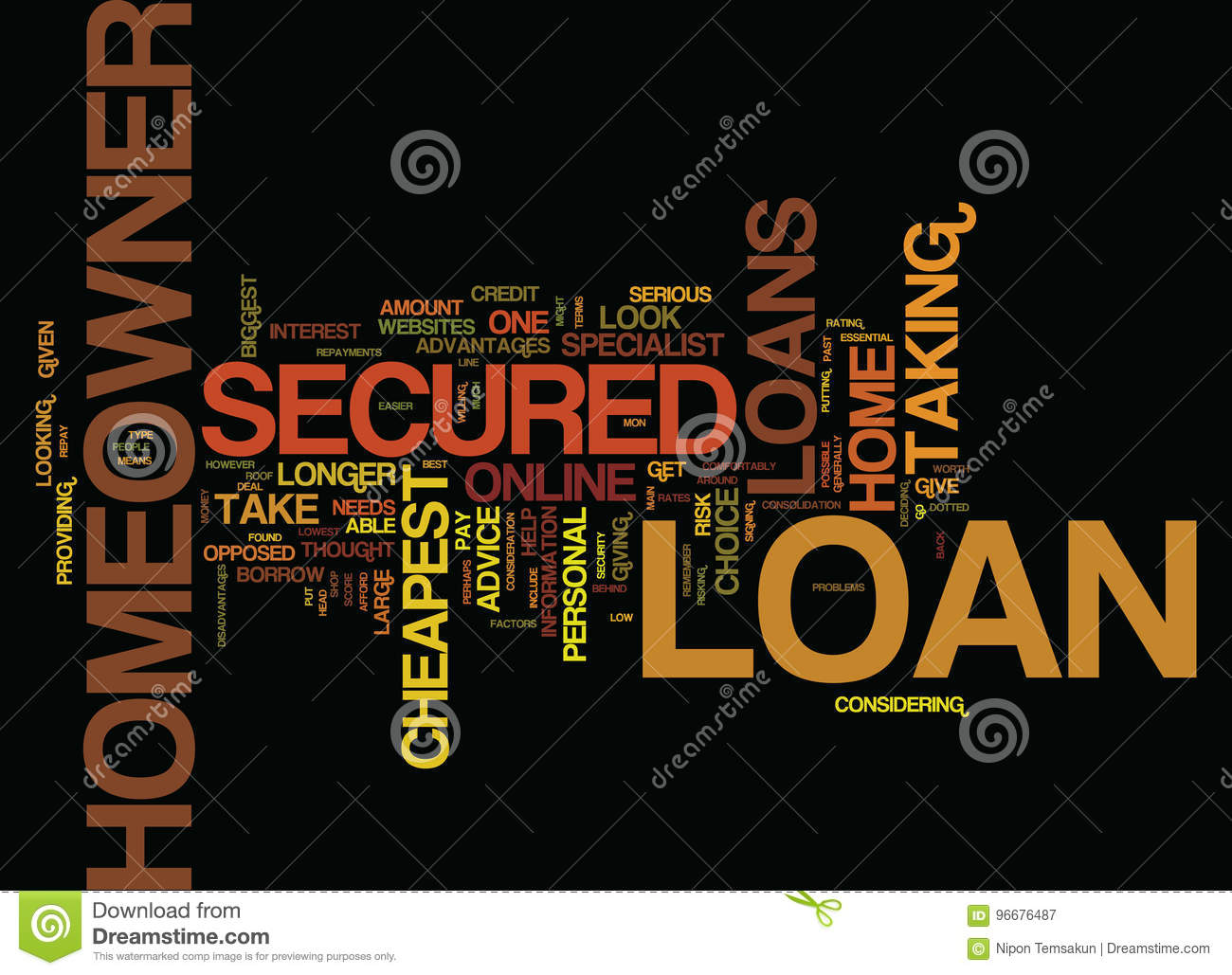 Secured homeowner loans