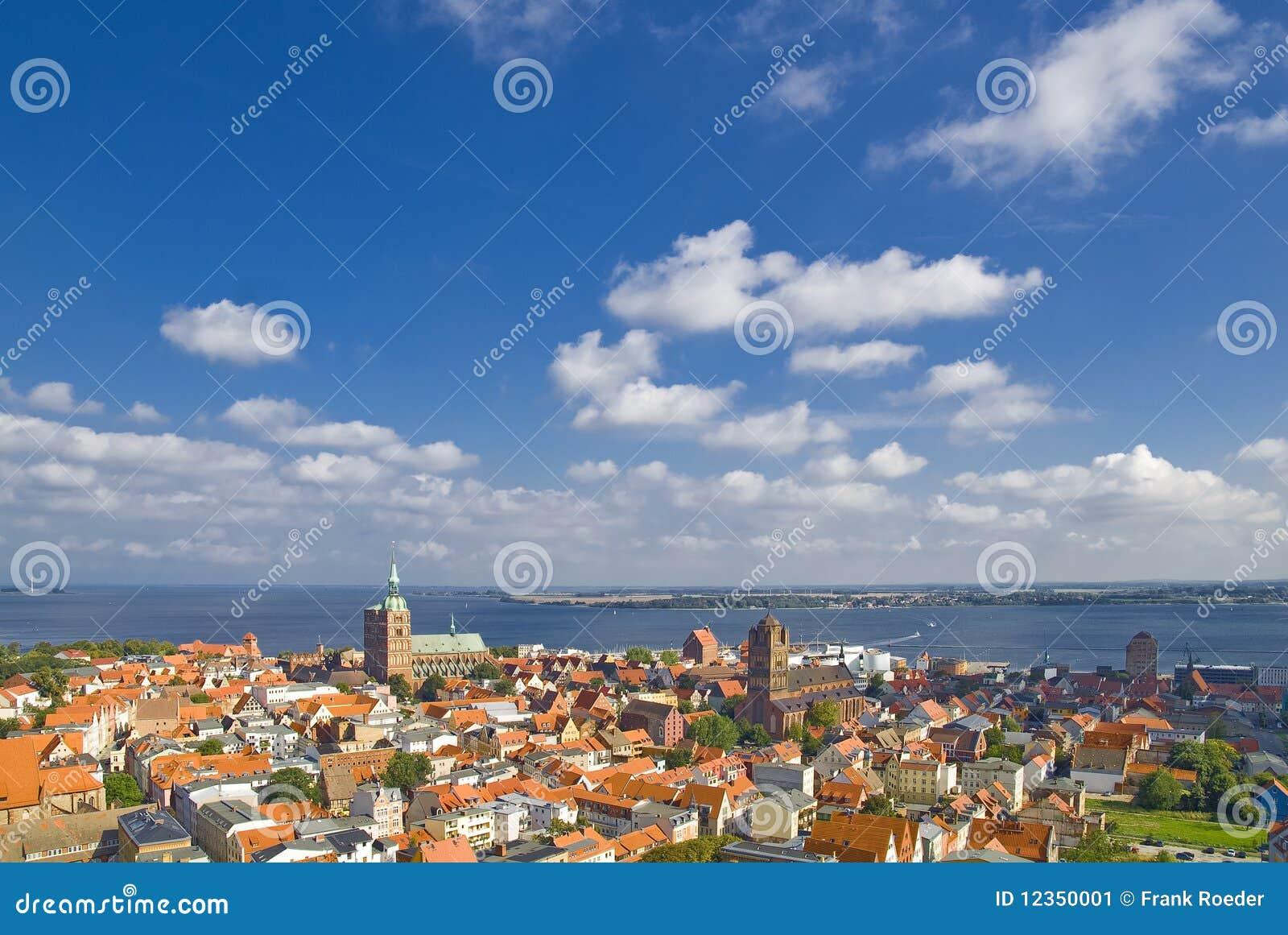 Look over Stralsund